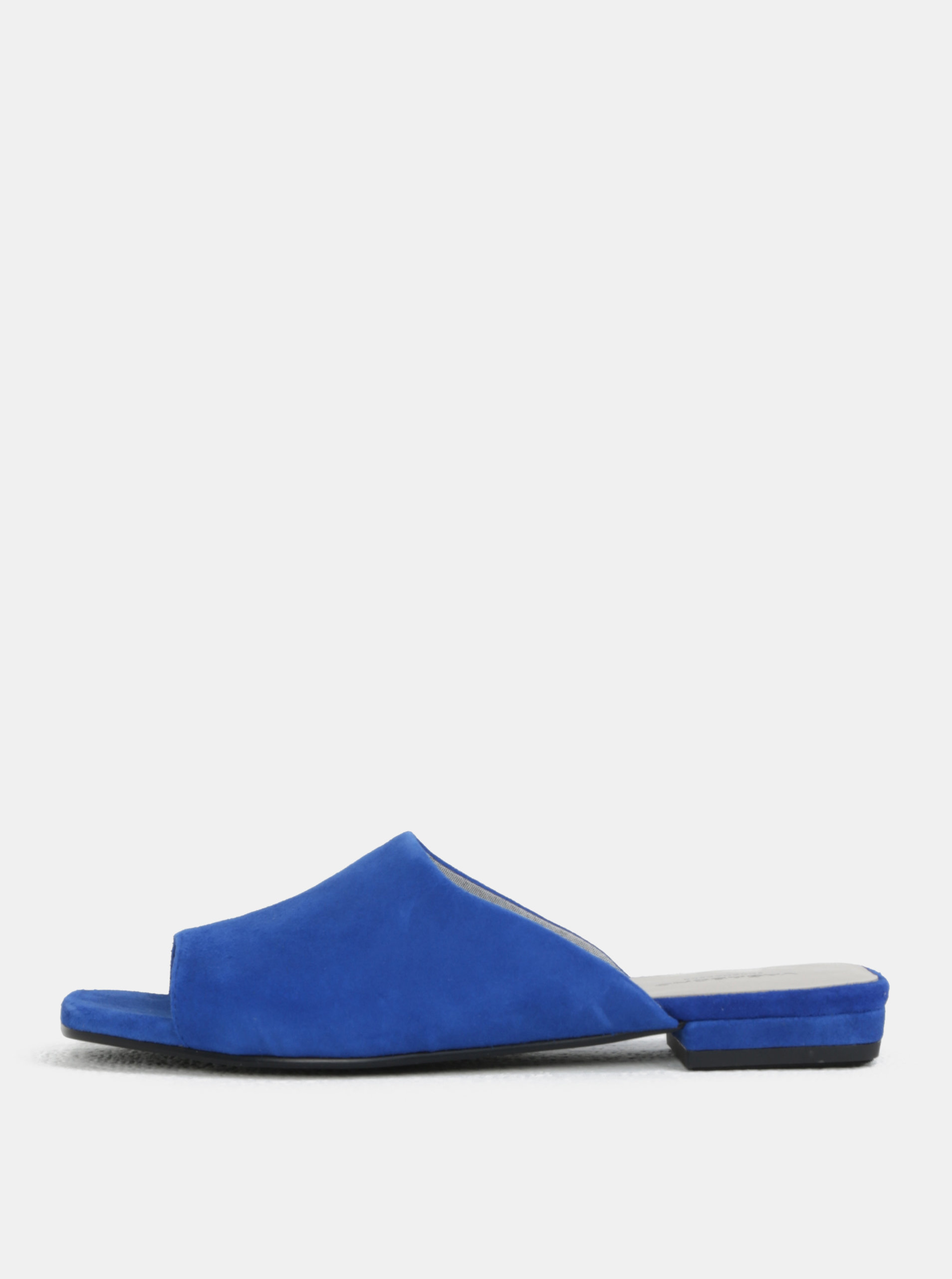 Modré dámské semišové pantofle Vagabond Becky