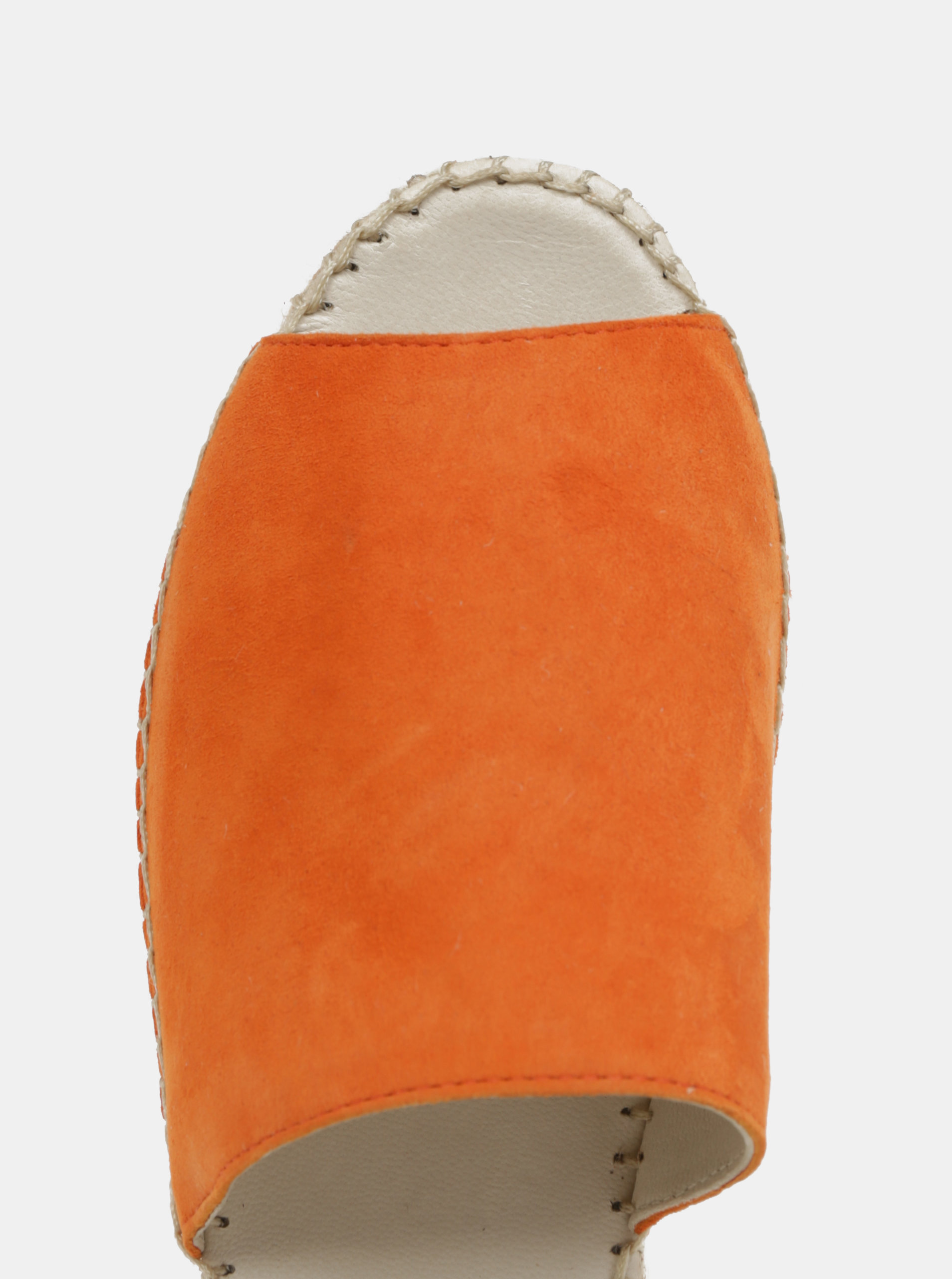 5d24db4d0a66a Oranžové dámske semišové šľapky na platforme Vagabond Celeste ...