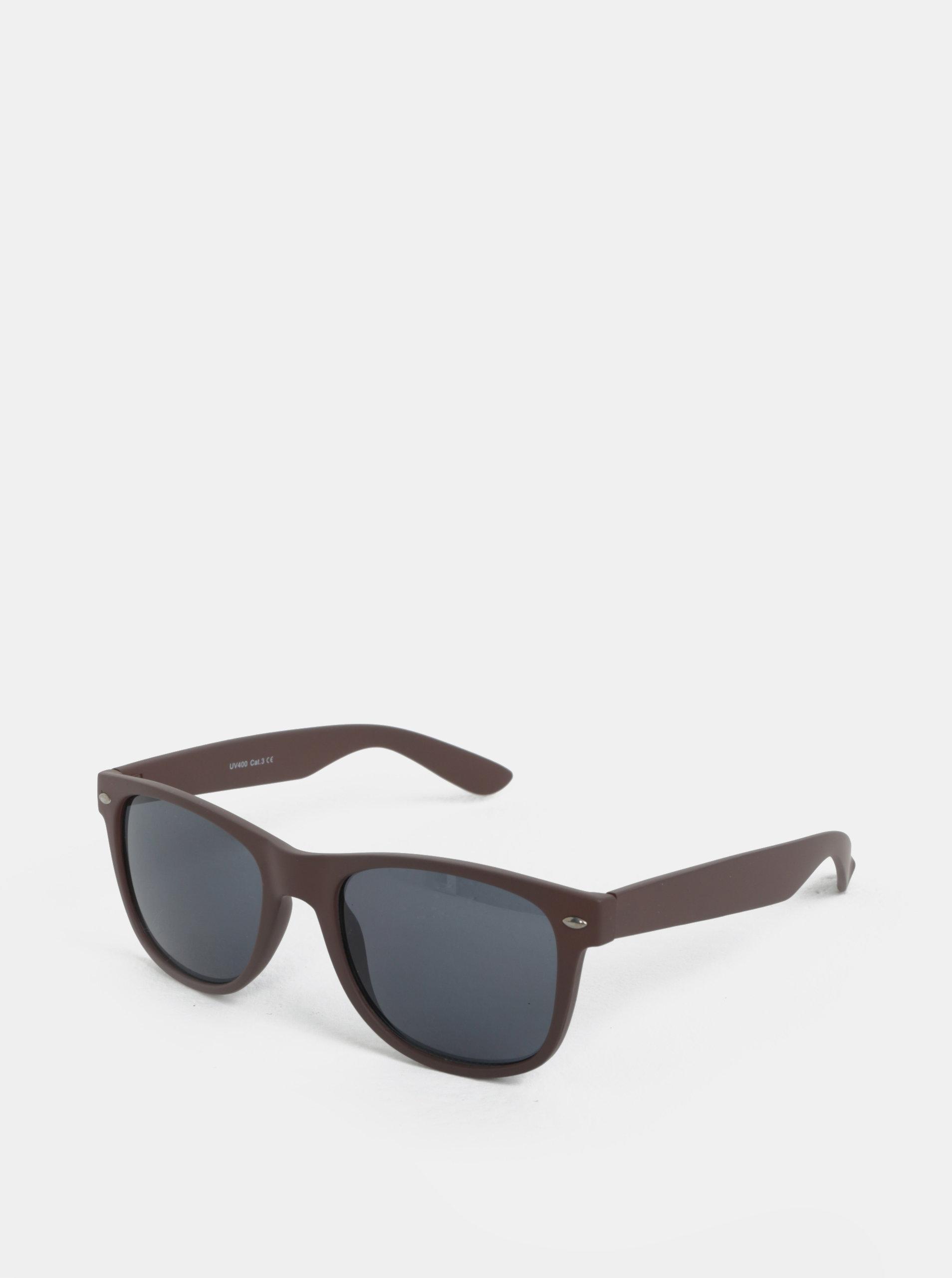 Hnědé sluneční brýle ONLY & SONS Display