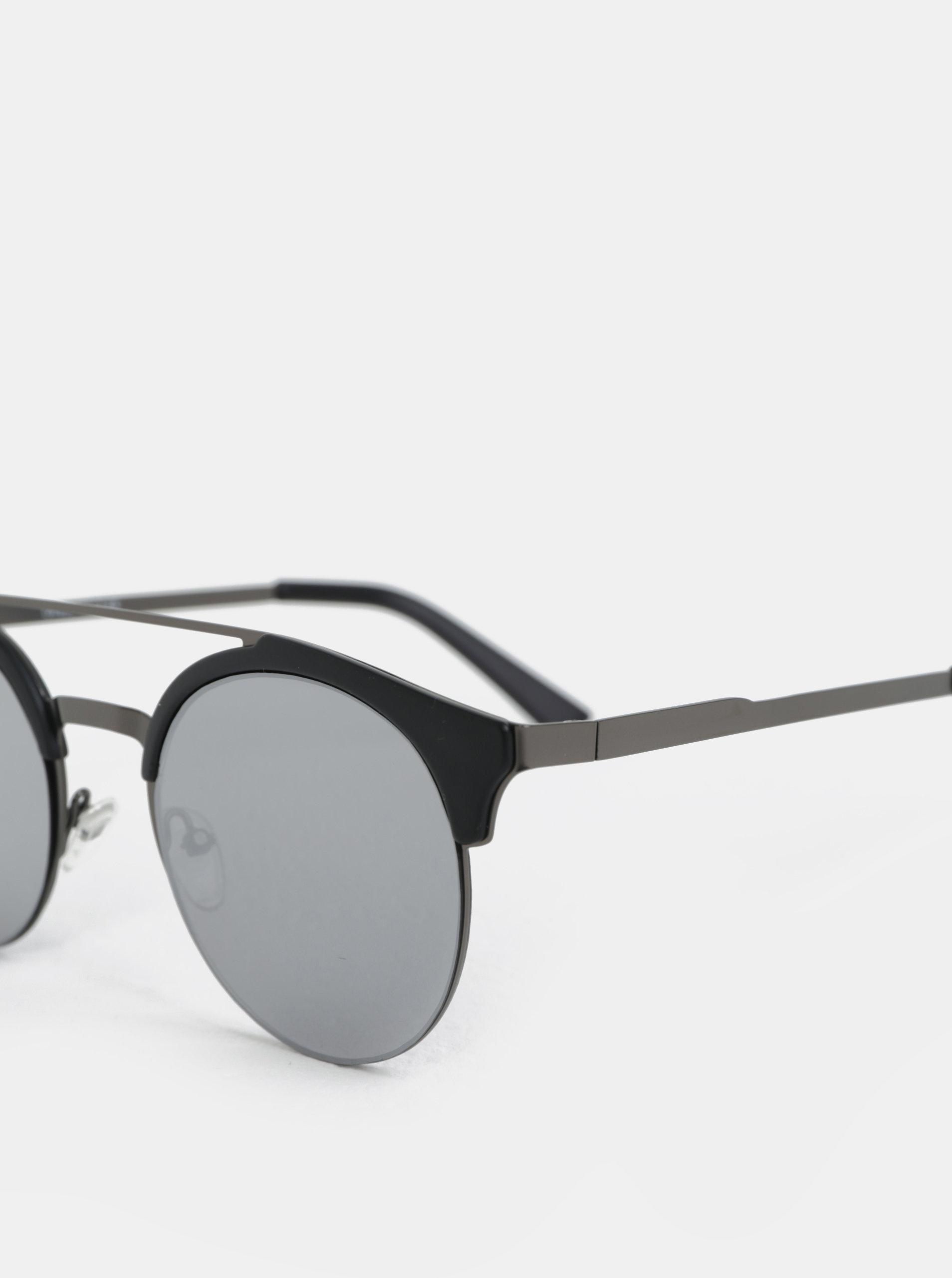 Čierne okrúhle slnečné okuliare ONLY   SONS Display ... 68def089a30