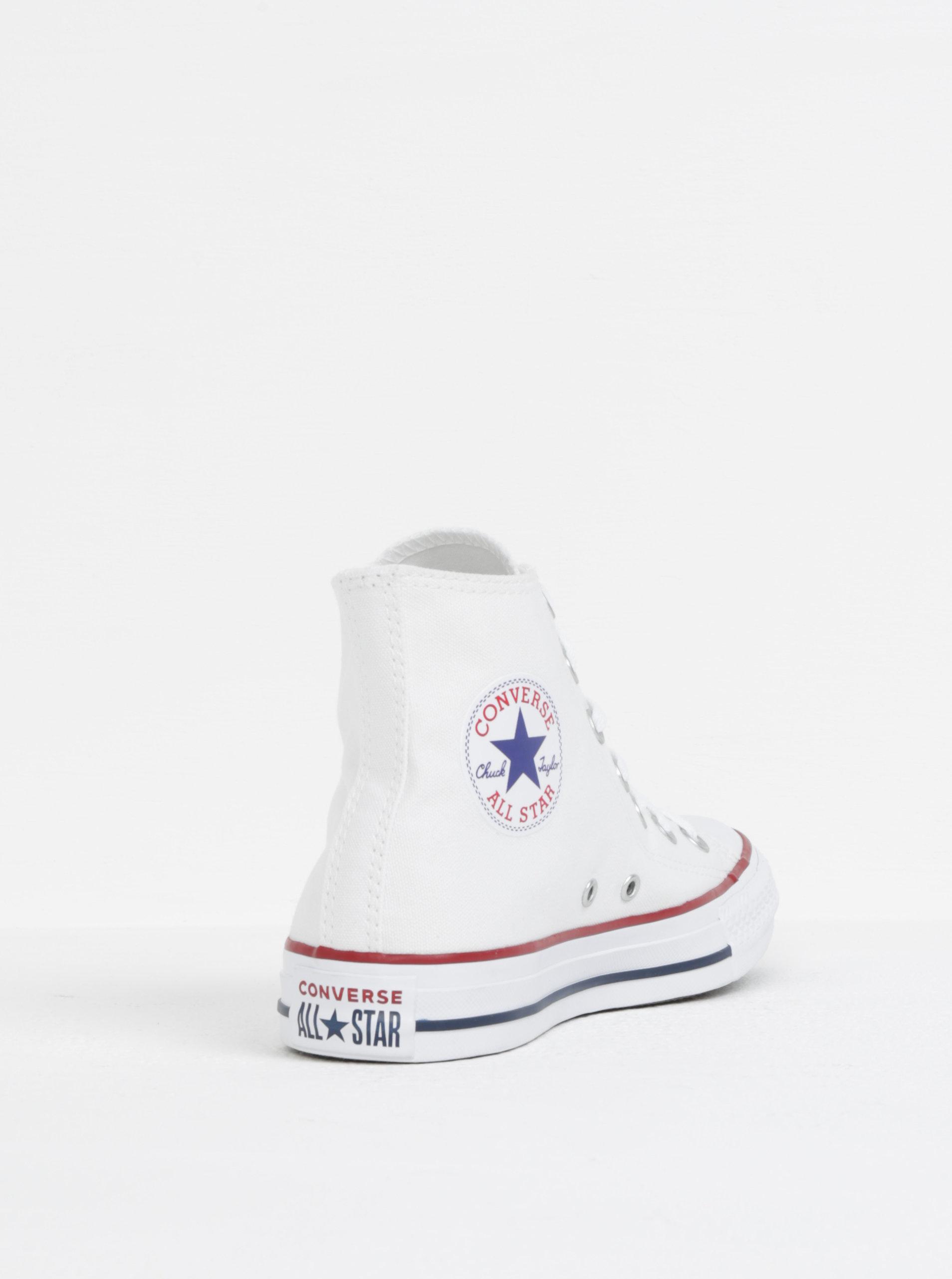 157aa0982276ea Bílé kotníkové tenisky Converse Chuck Taylor All Star ...