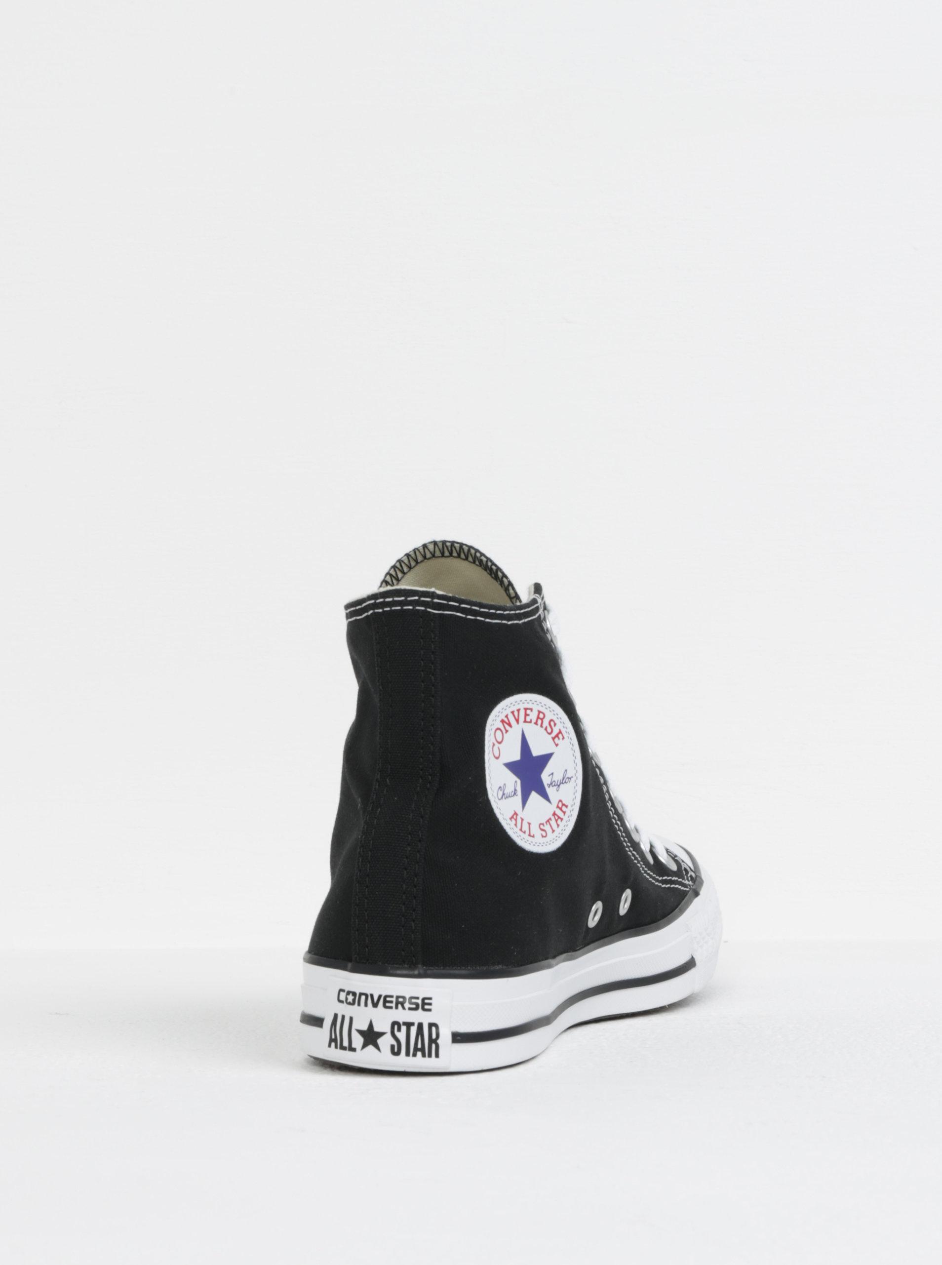Čierne členkové tenisky Converse Chuck Taylor All Star ... 7e74b84daed