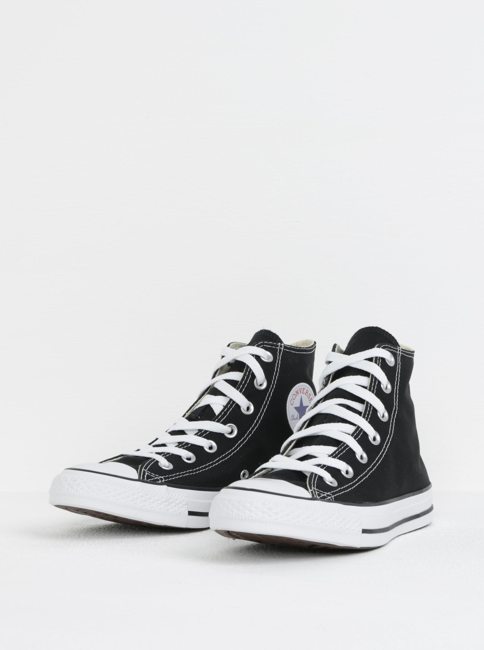 Černé kotníkové tenisky Converse Chuck Taylor All Star ... e02336fc62