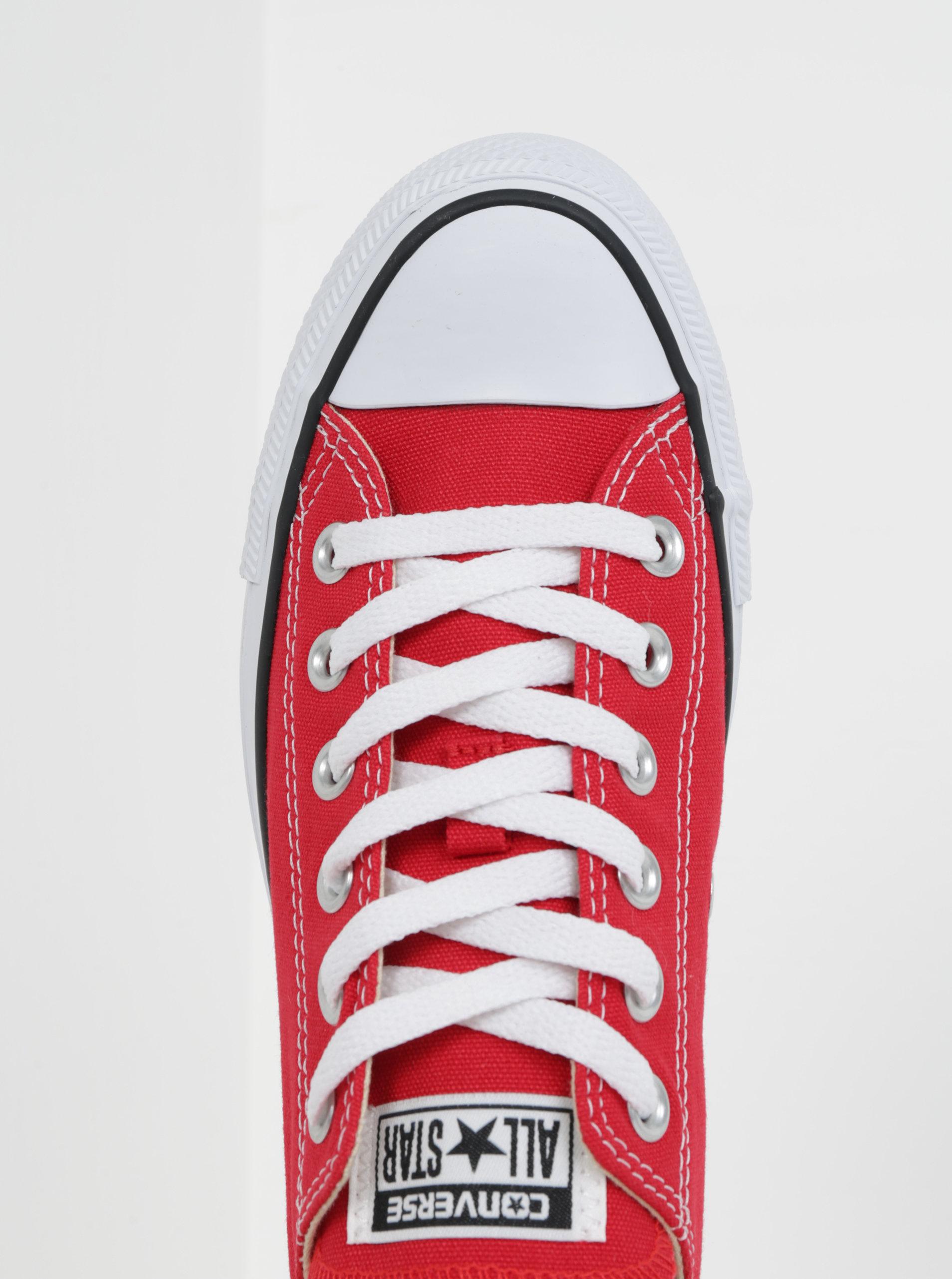 Červené tenisky Converse Chuck Taylor All Star ... 18520df9eeb