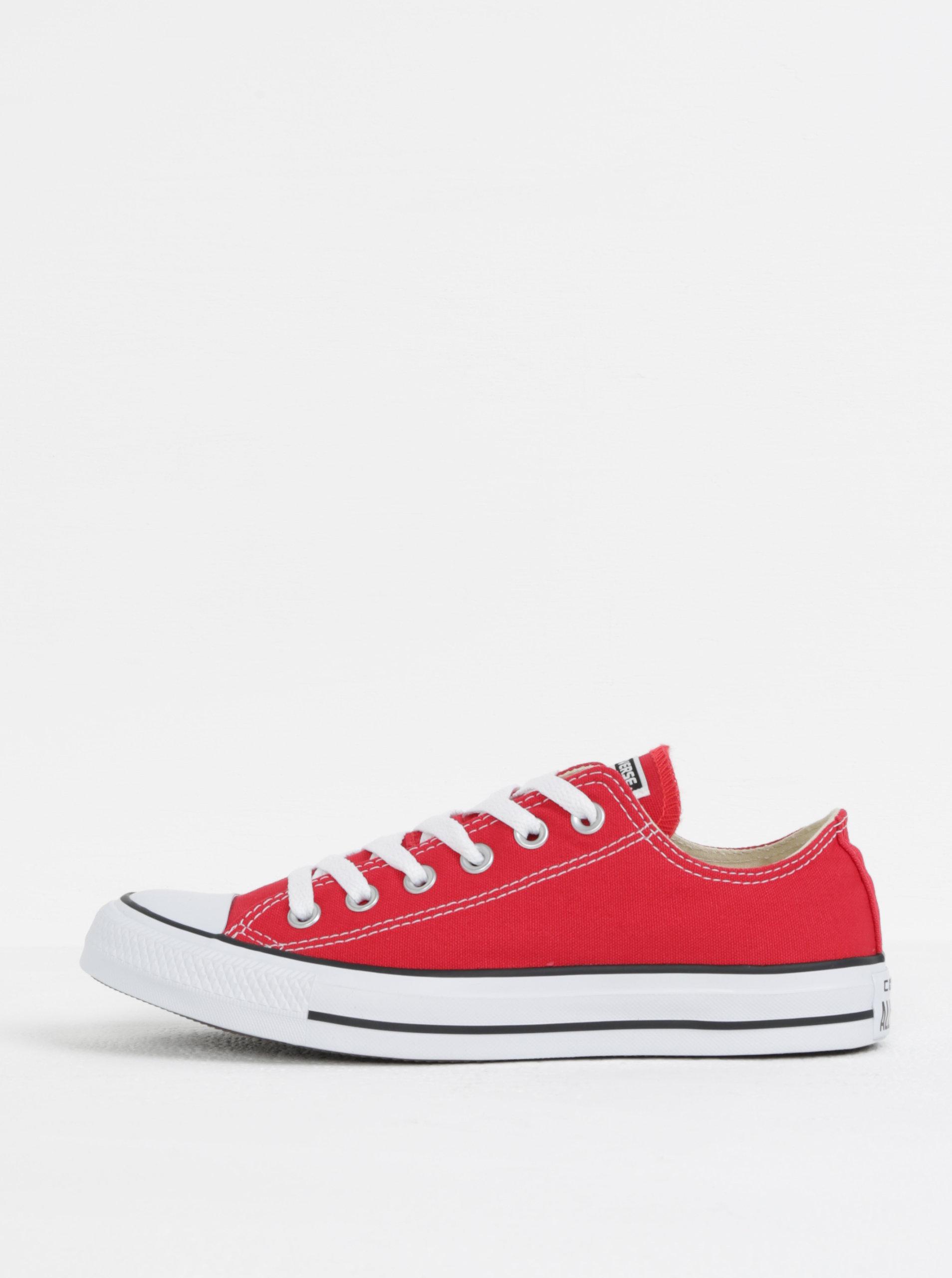 Červené tenisky Converse Chuck Taylor All Star ... de434ba0c9b