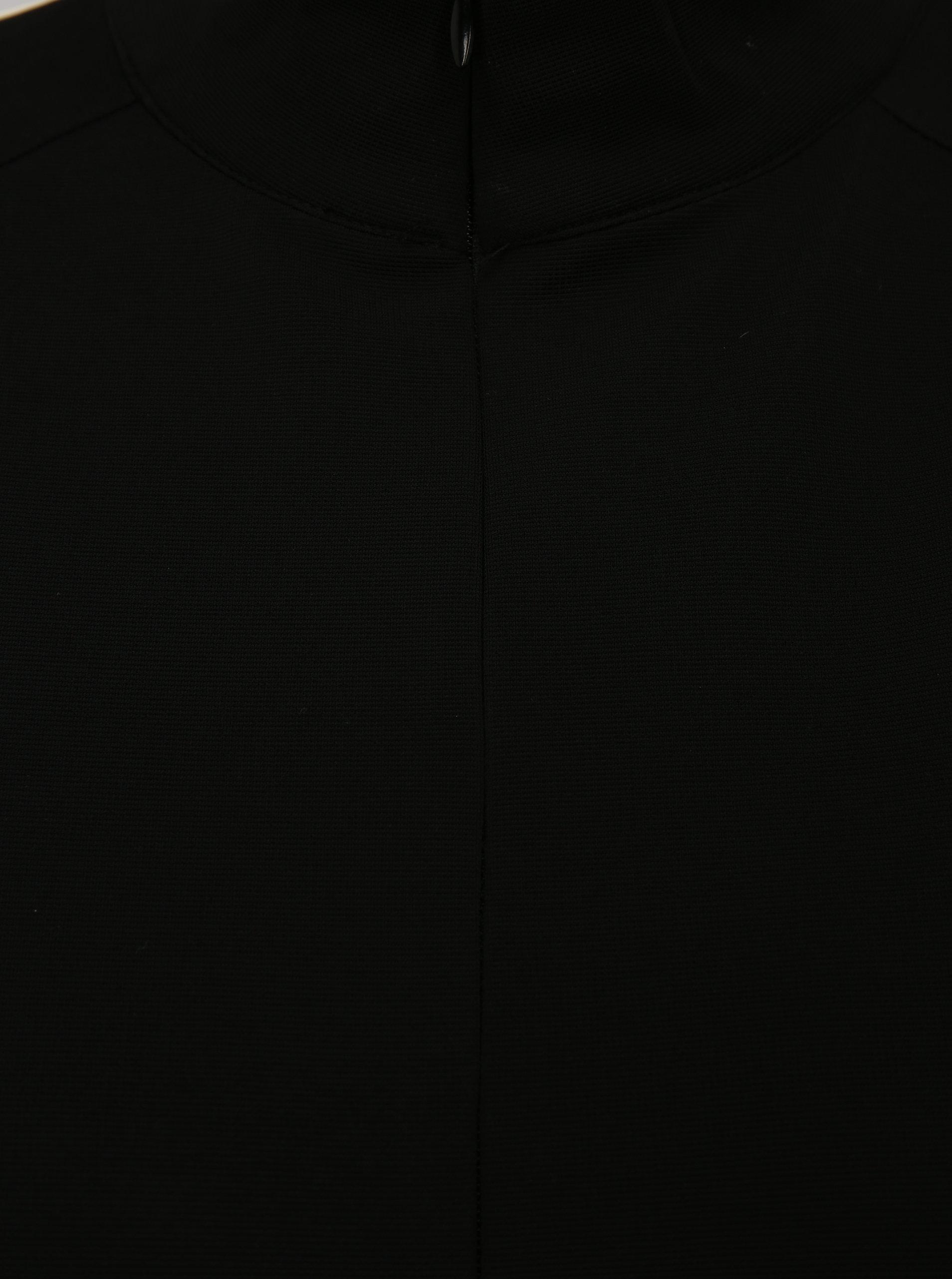 Čierna voľná mikina cez hlavu s bielymi pruhmi Moss Copenhagen Seely ... e2792d6cebc