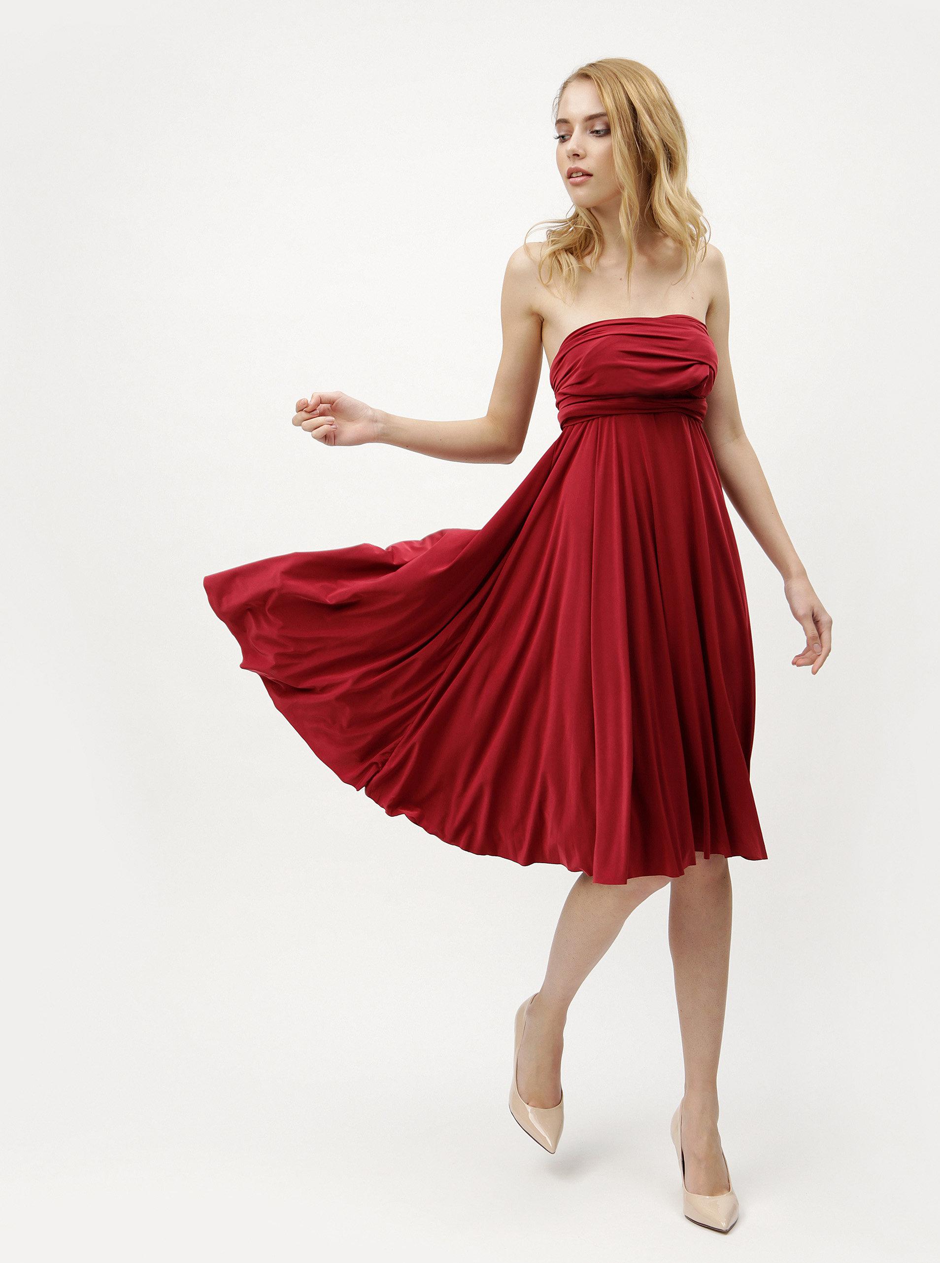 0c627e5e0244 Vínové variabilné šaty sukňa ZOOT ...
