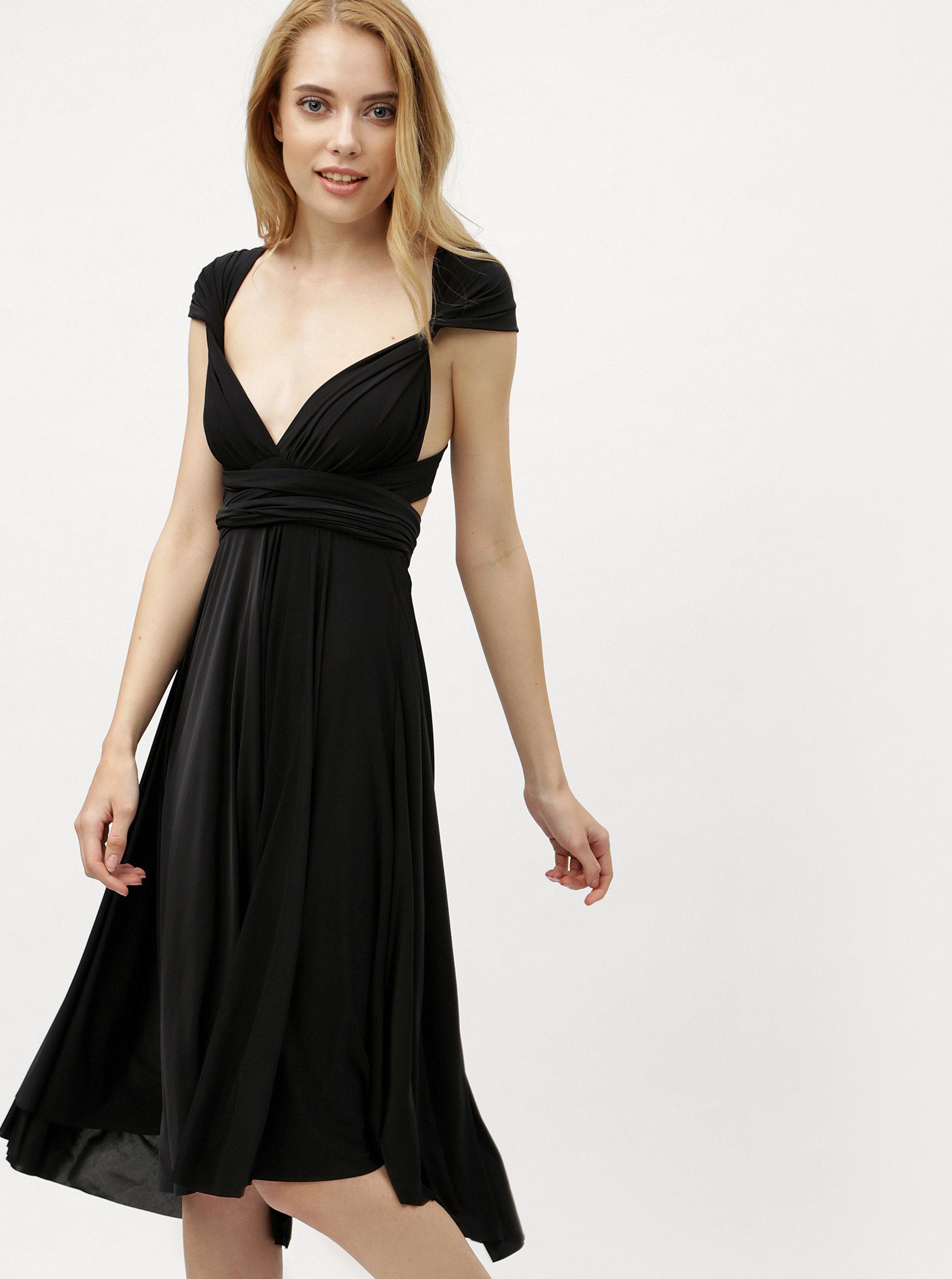 df7971d281ec Čierne variabilné šaty sukňa ZOOT ...