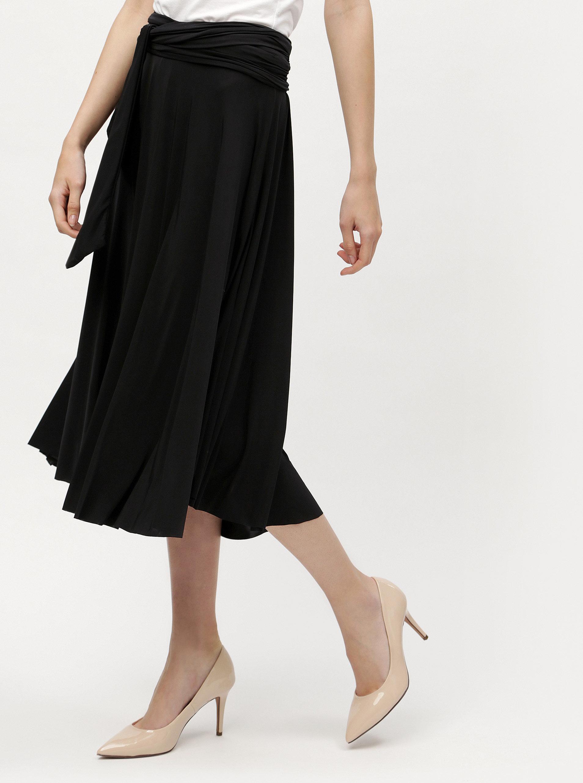 e24bf16b5240 Čierne variabilné šaty sukňa ZOOT ...
