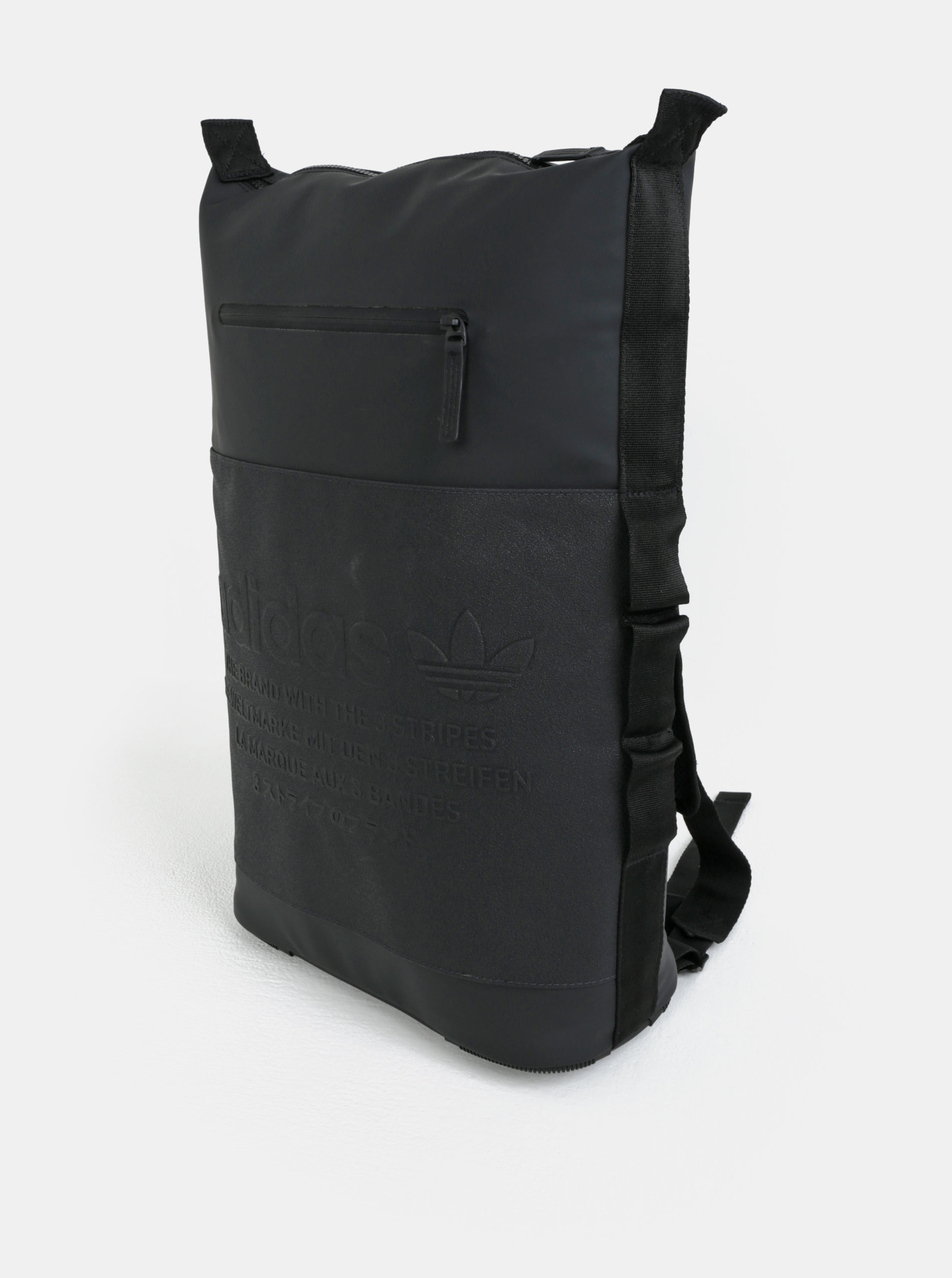 Černý nepromokavý batoh adidas Originals NMD ... 2679d04f6a