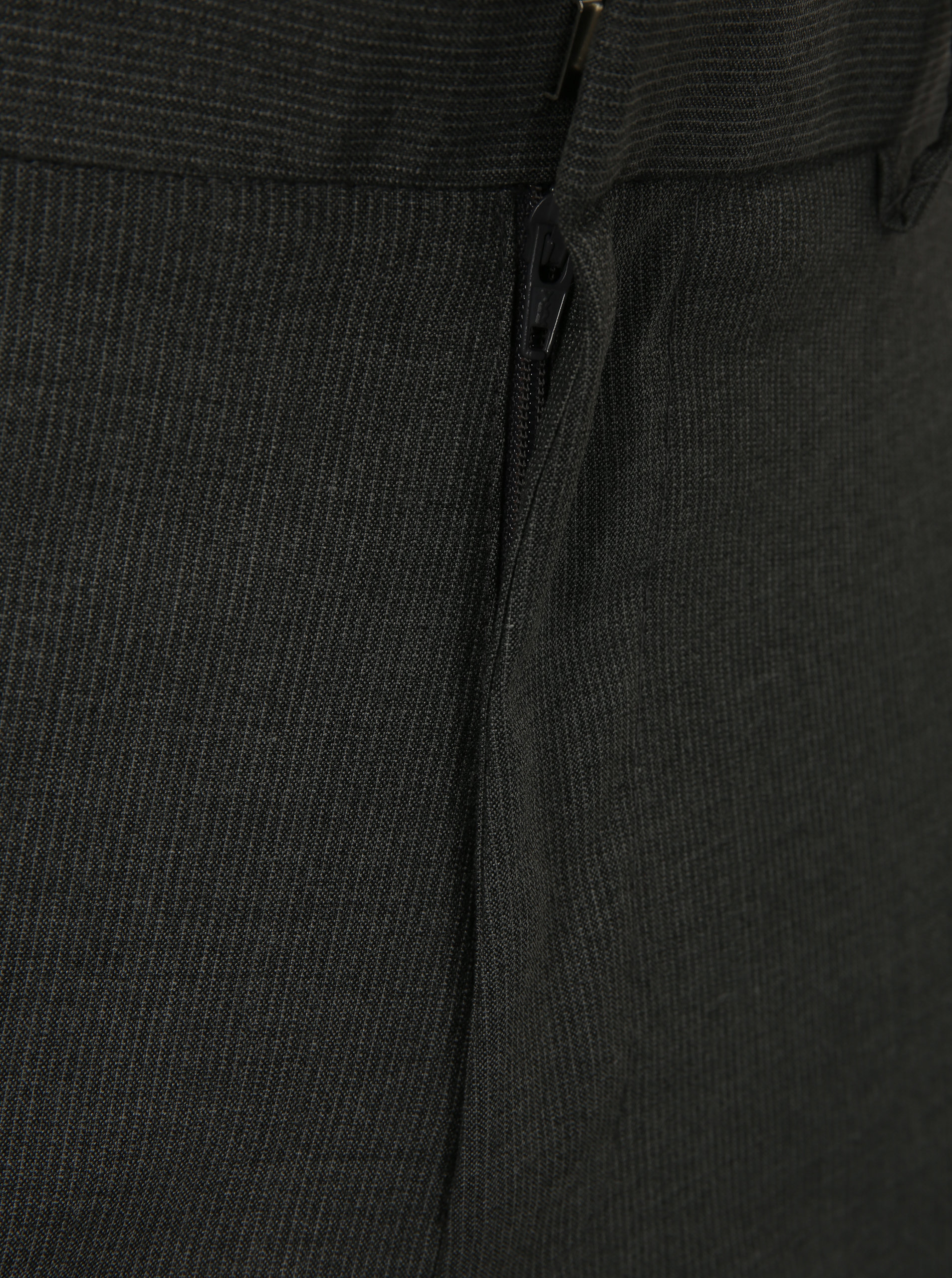 Tmavě šedé slim fit kalhoty Burton Menswear London