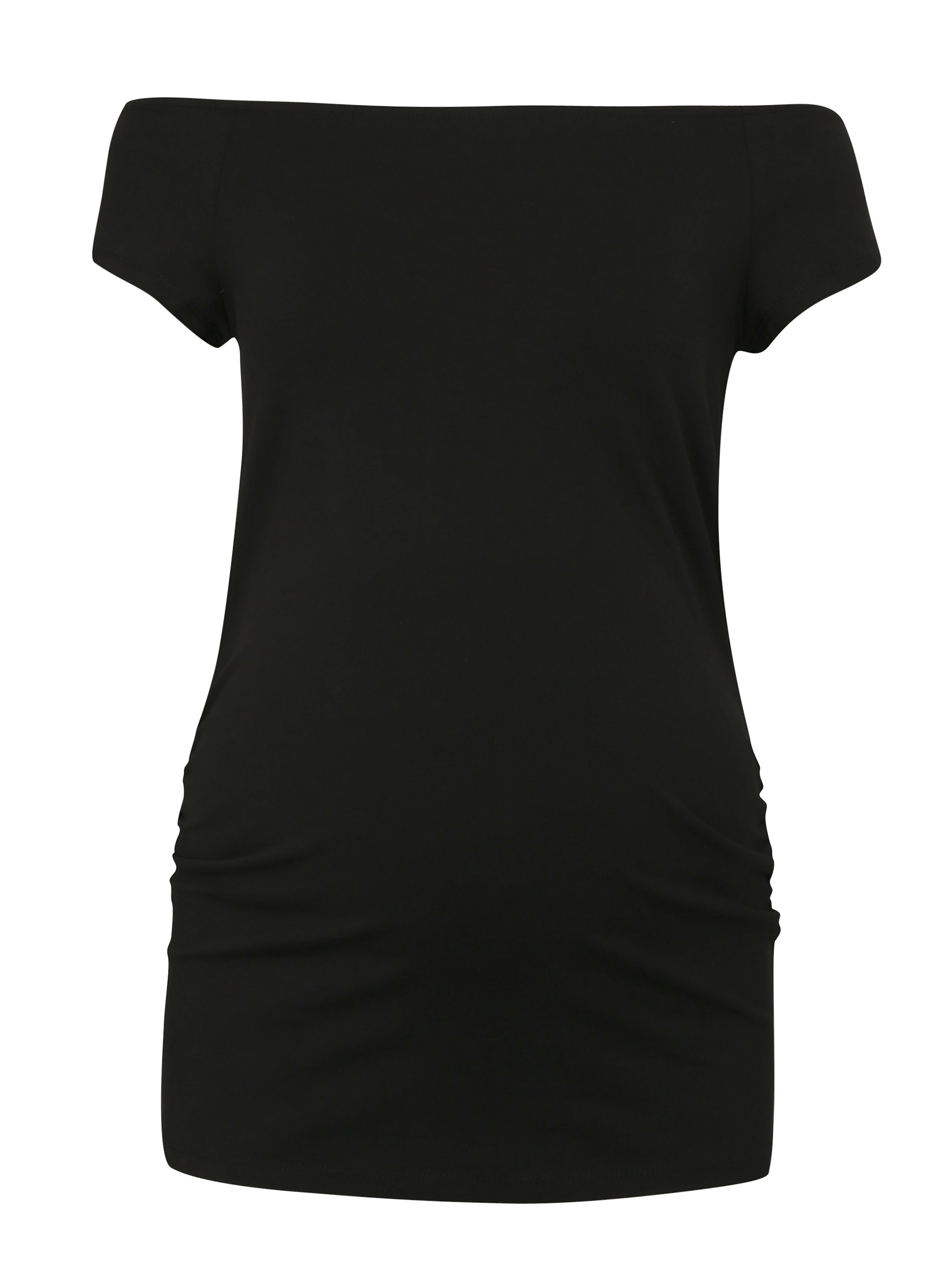 c7d84d91200c Čierne tehotenské tričko s odhalenými ramenami Dorothy Perkins Maternity ...