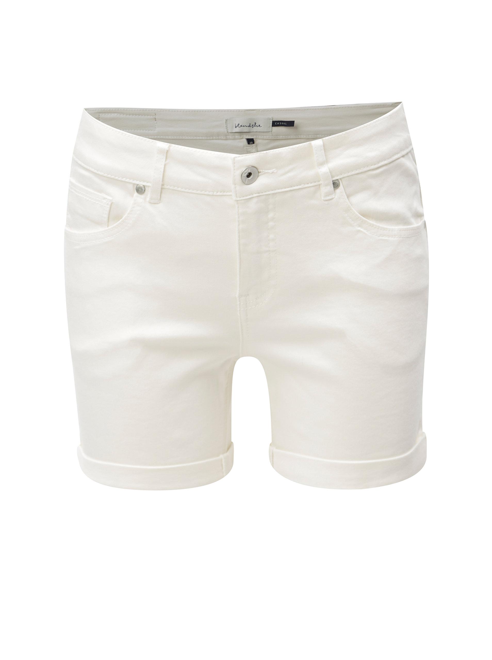 Bílé kraťasy Blendshe Casual Cameo ... 98736067e0