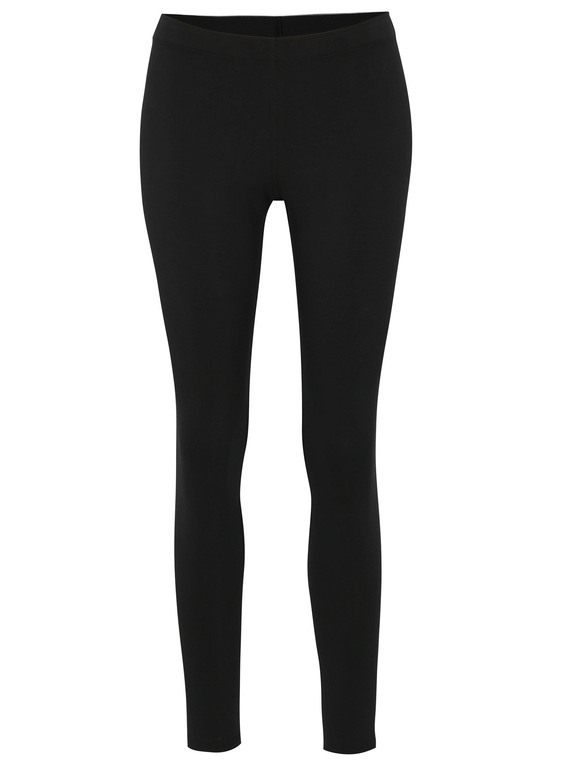 1f0752e3013e Čierne dámske legíny Nike Lggng logo ...