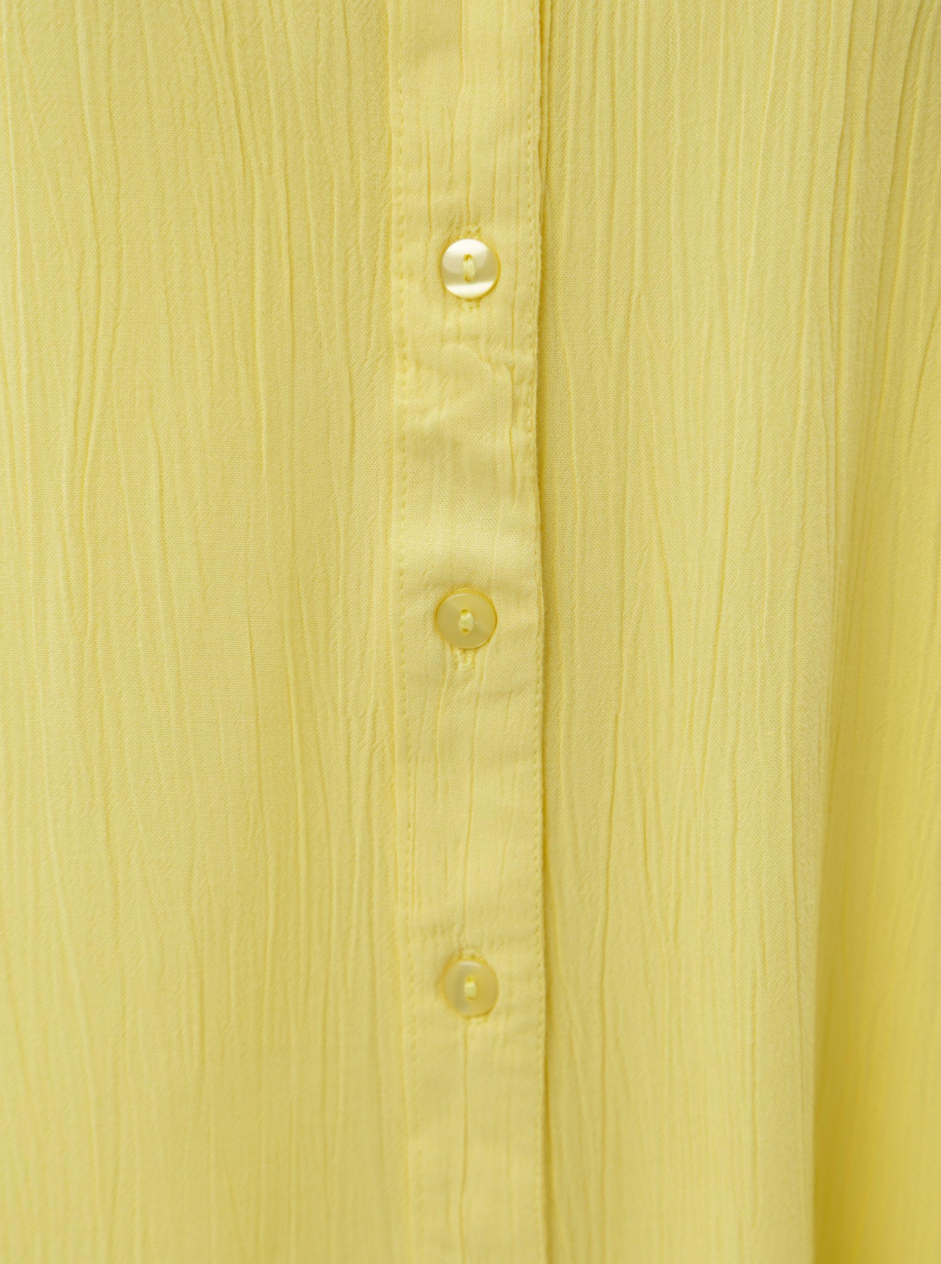 a9f7da718f7f Žltá blúzka s krátkym rukávom Blendshe Jelena ...