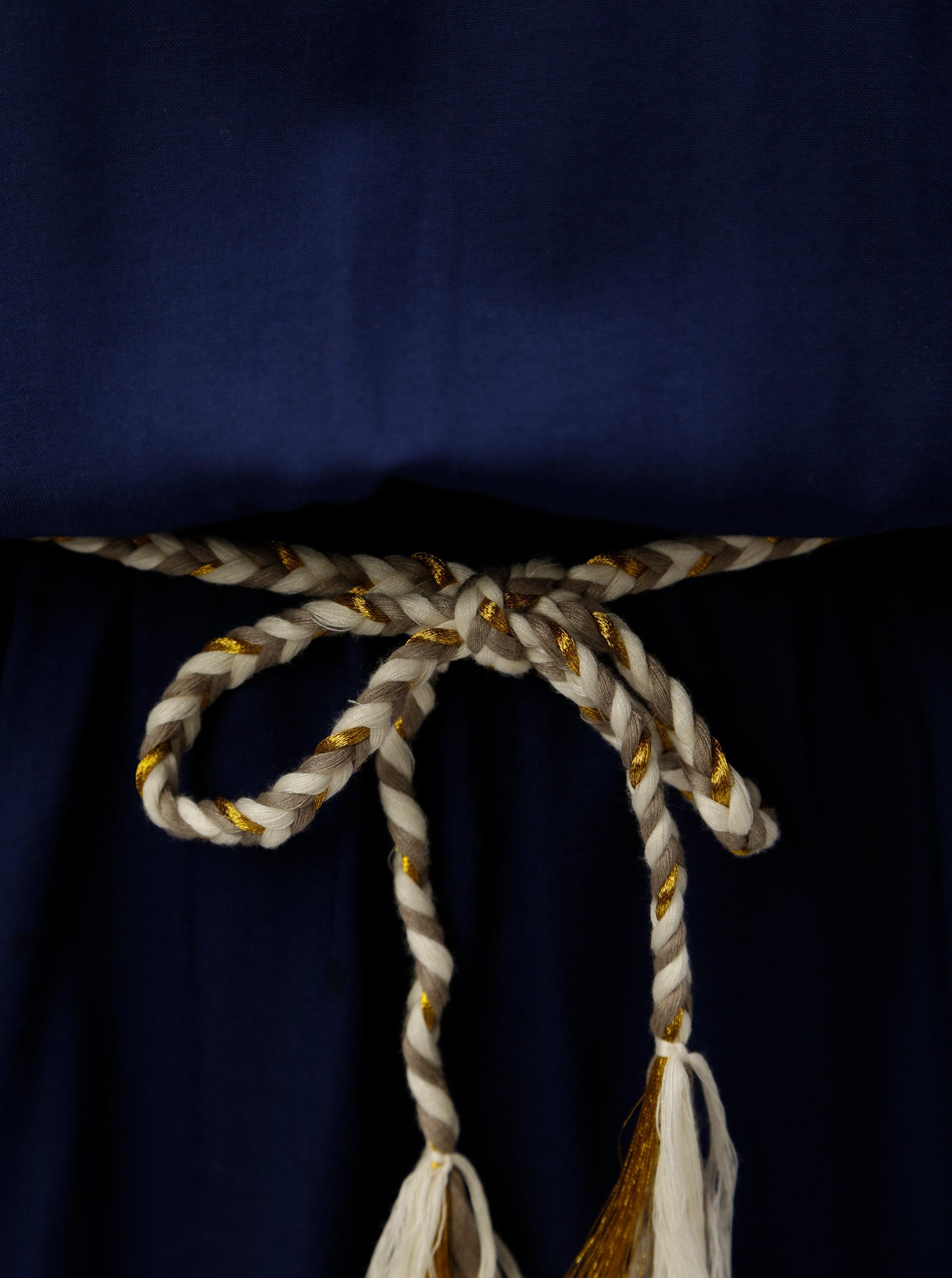 e0860adc6274 Tmavě modré áčkové šaty Blendshe Ellen ...
