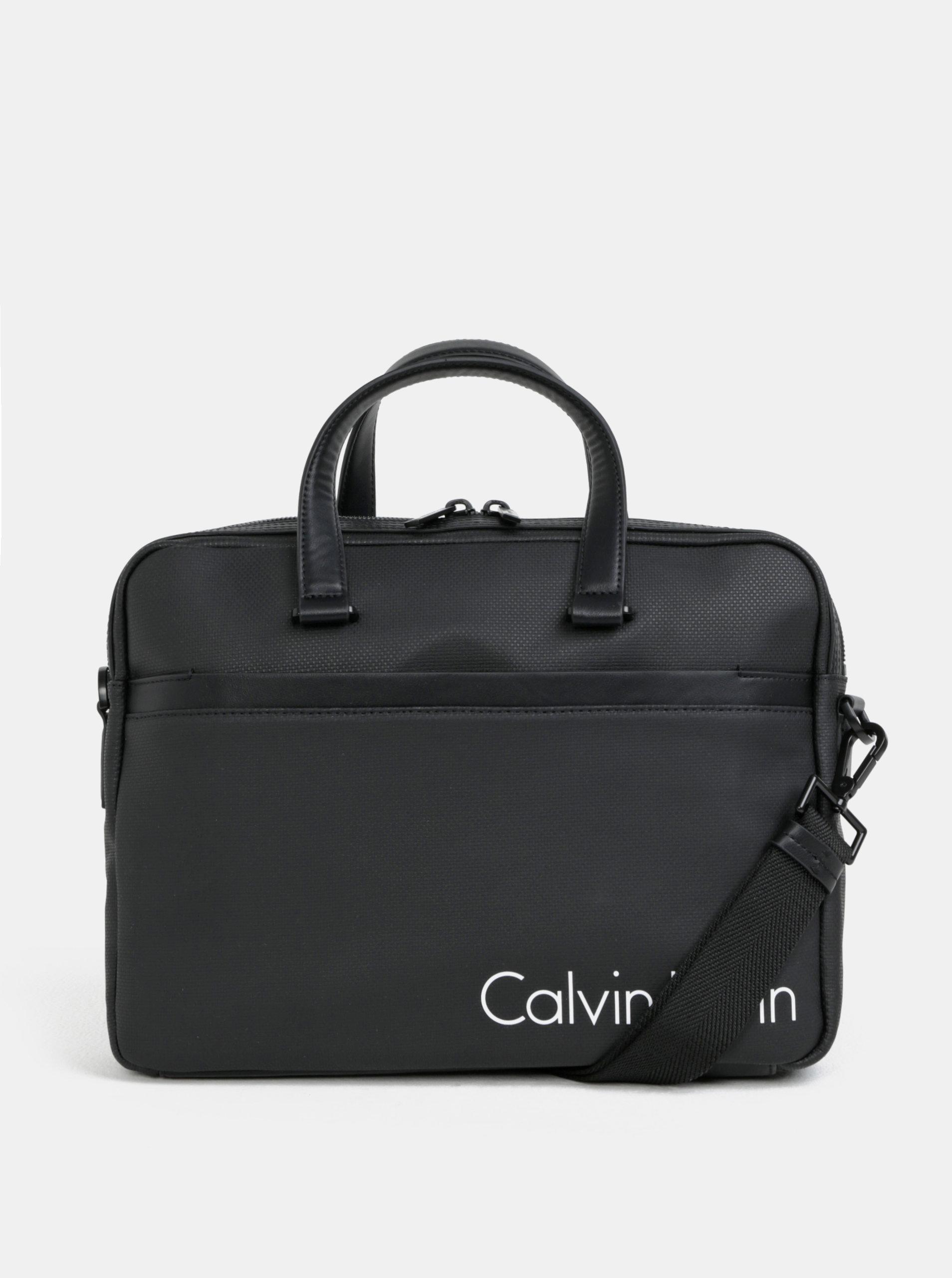 Černá pánská taška na notebook Calvin Klein Jeans