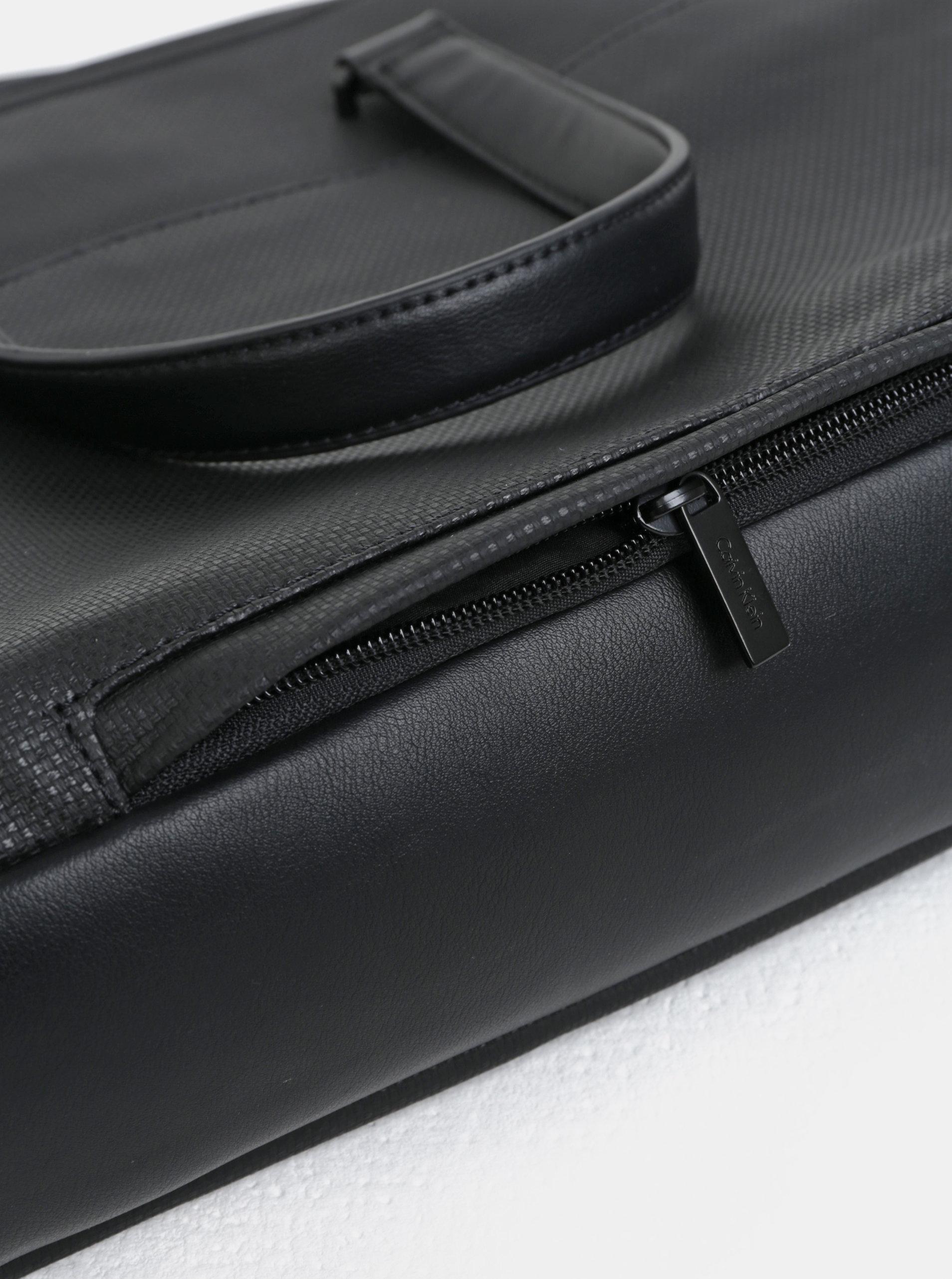 Černá pánská taška na notebook Calvin Klein Jeans 15
