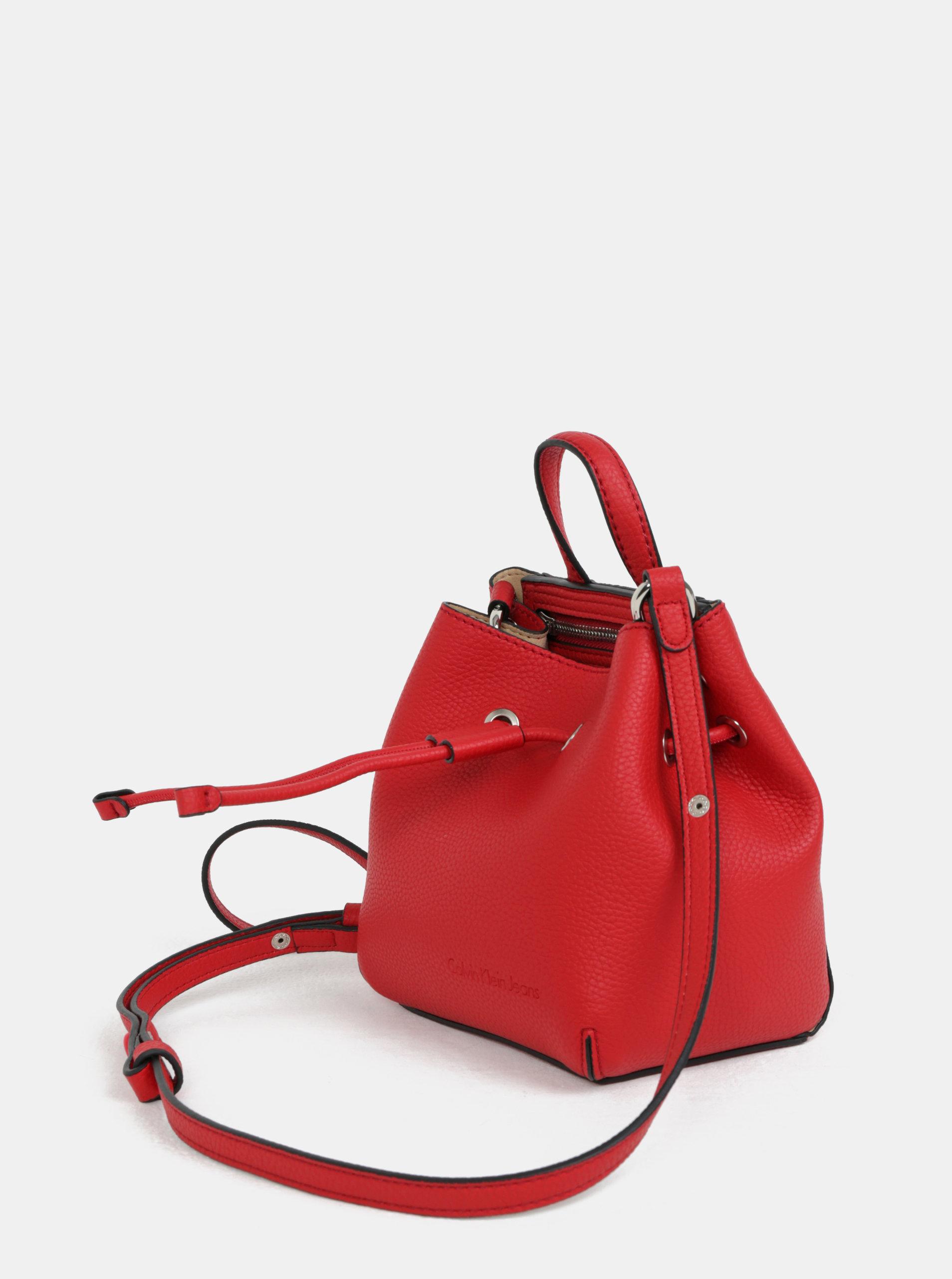 5031983f2 Červená malá vaková kabelka Calvin Klein Jeans | ZOOT.sk