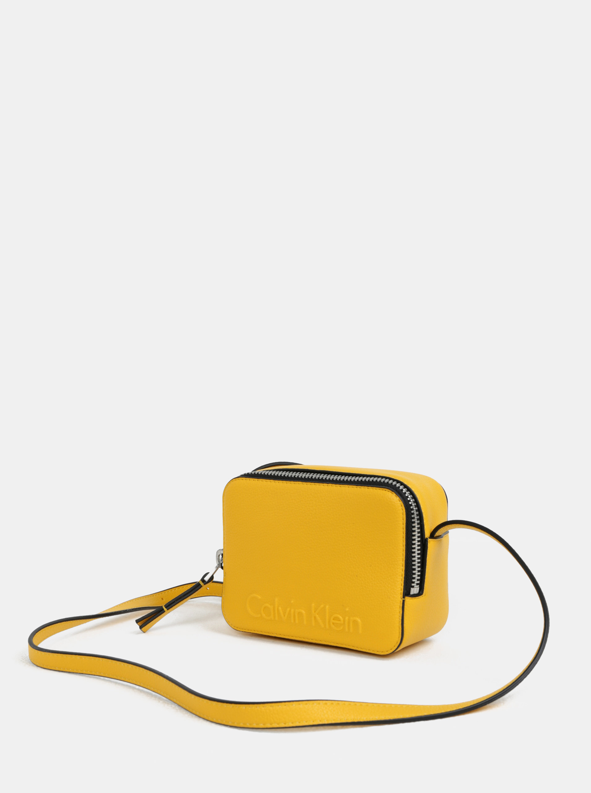 6398ce20a5 Žltá malá crossbody kabelka Calvin Klein Jeans ...