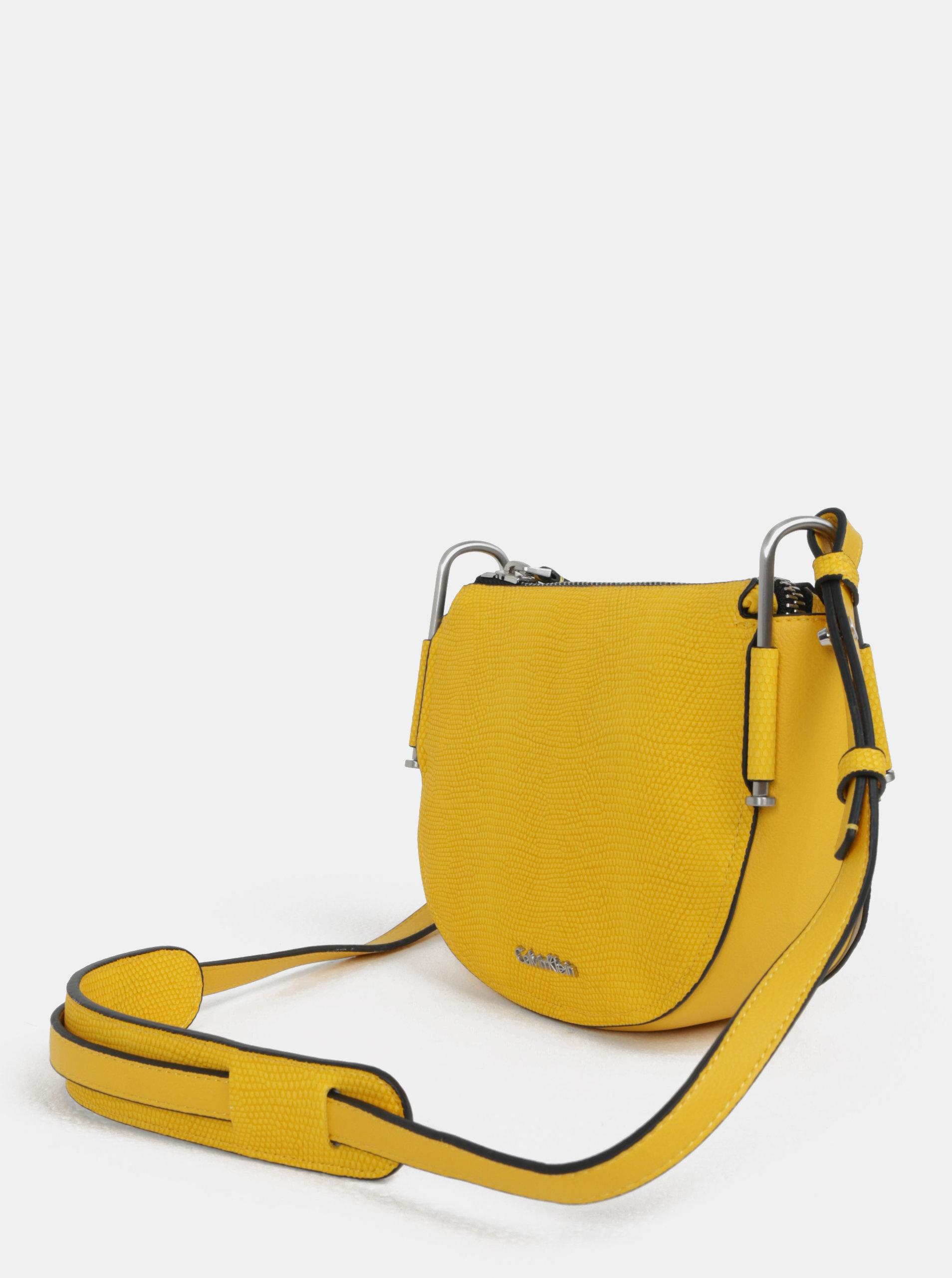 ed05db623e Žltá crossbody kabelka Calvin Klein Jeans ...