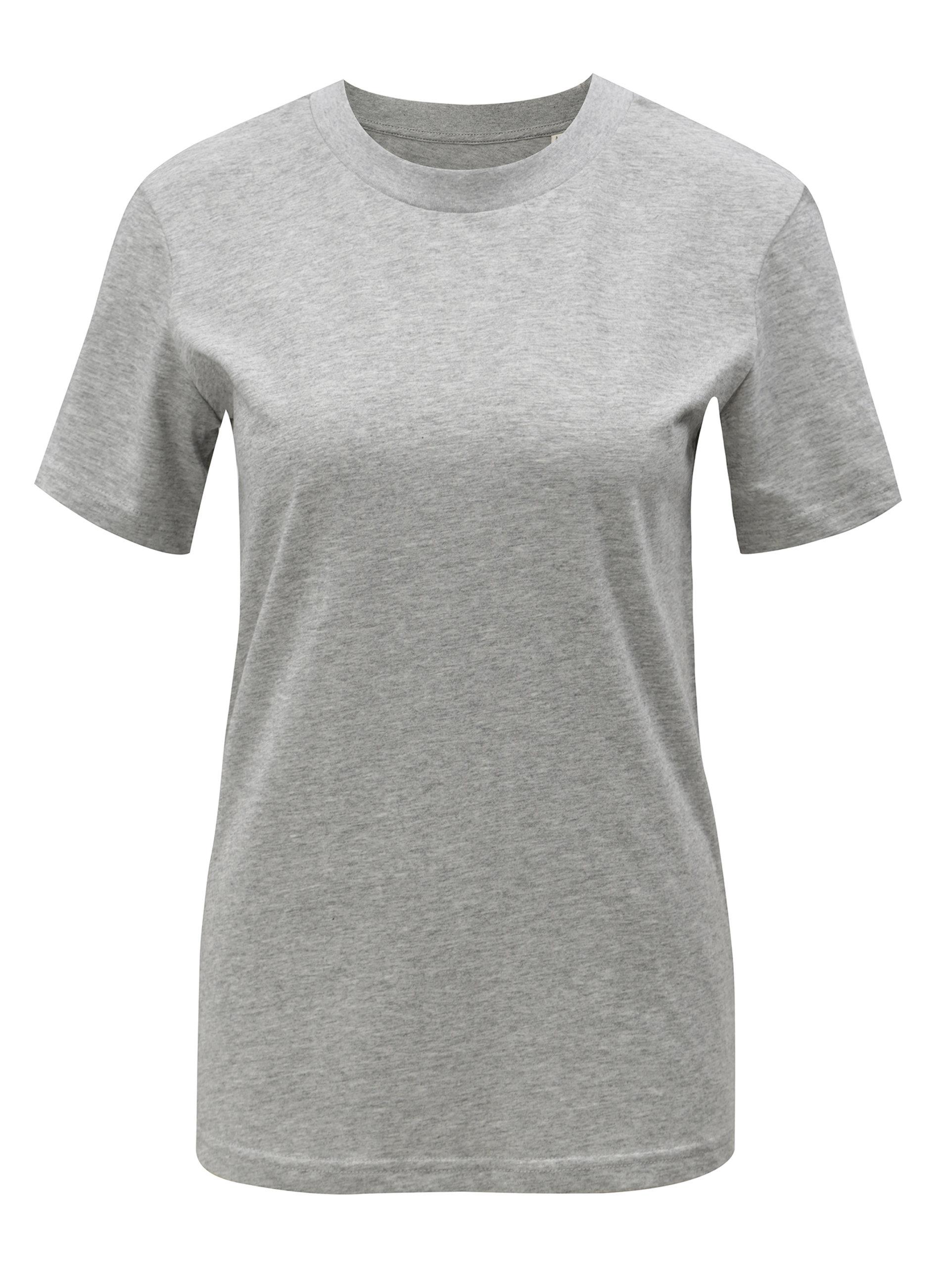 Šedé dámské žíhané tričko Stanley   Stella Selects ... c6cc3cea31c