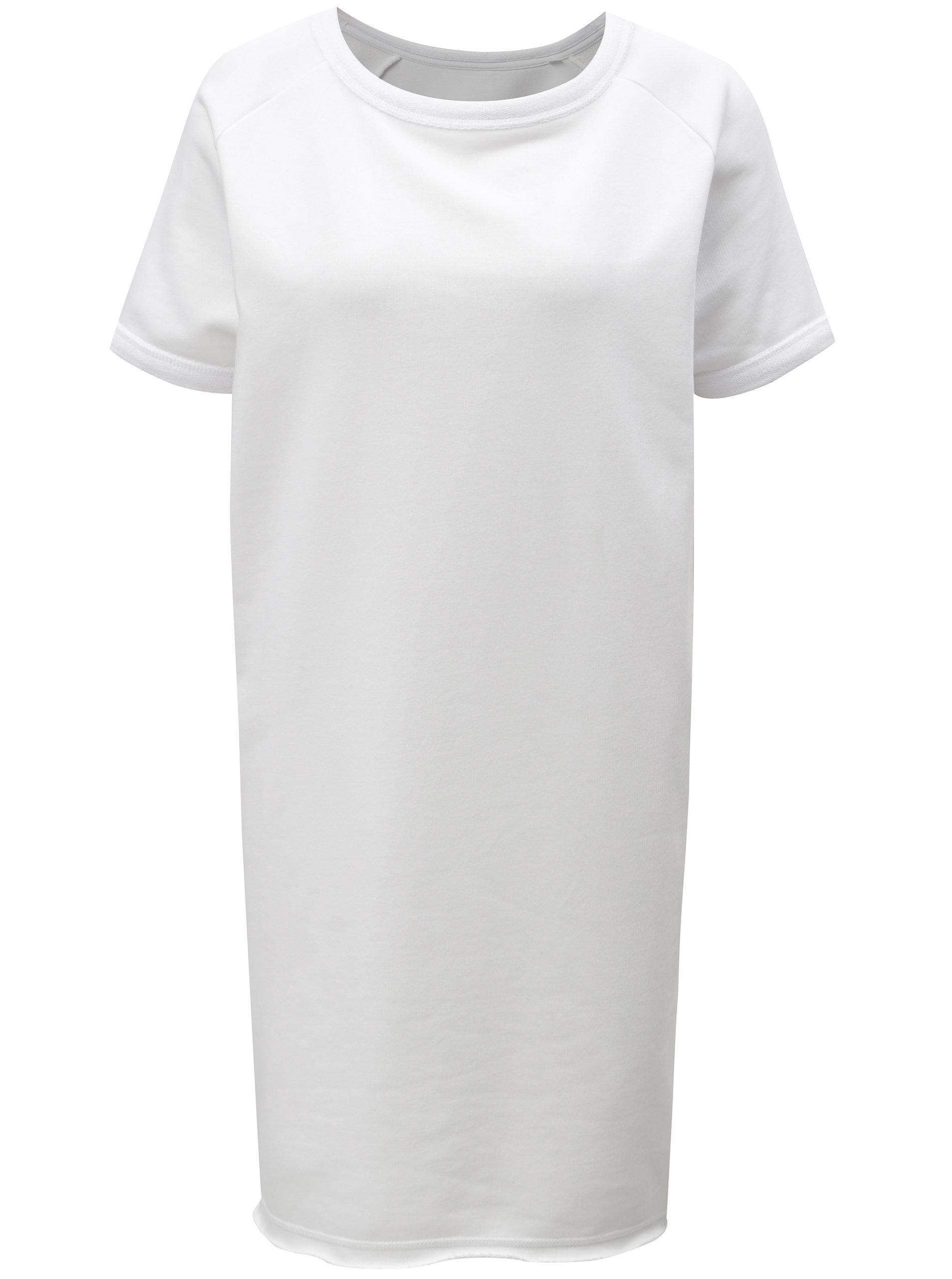 Bílé mikinové šaty Stanley   Stella Tendrs ... 8276eccb70e