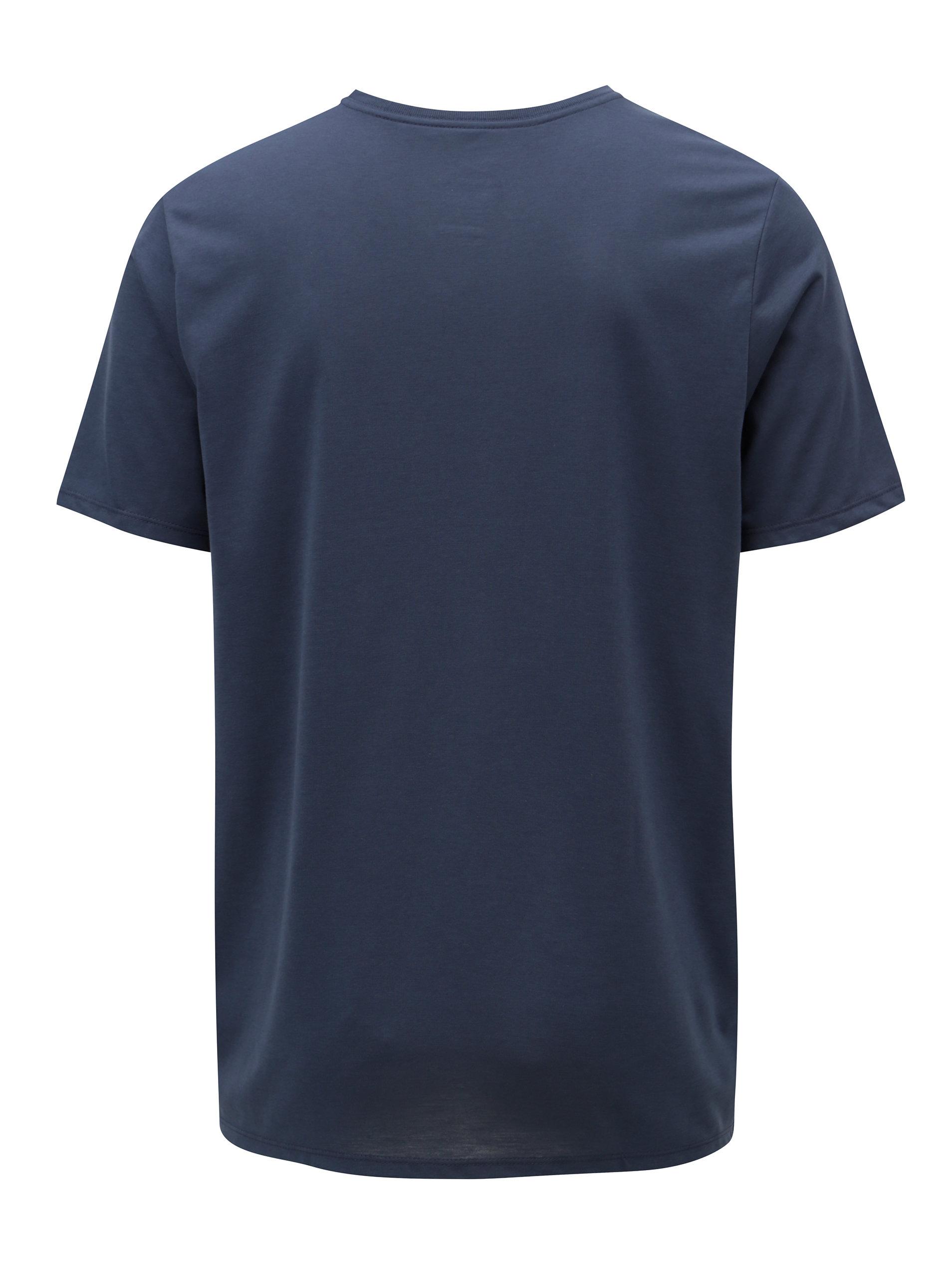 0d197c257130 Tmavomodré pánske funkčné tričko s potlačou Nike Athlete ...