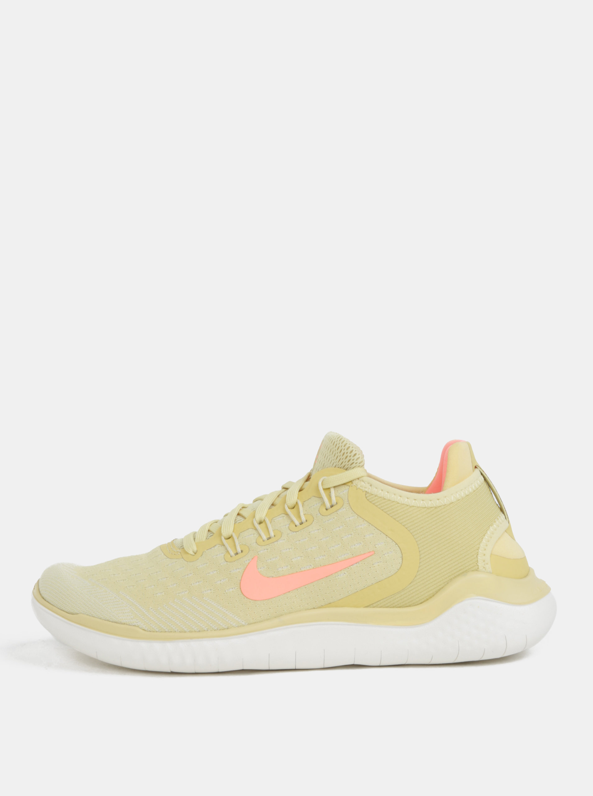 9f041bc7f3b9 Žlté dámské tenisky Nike Free run ...