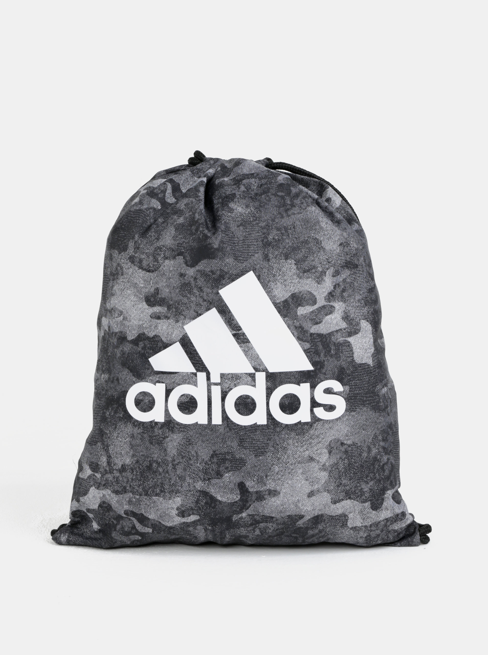 Šedý maskáčový vak s logem adidas Originals