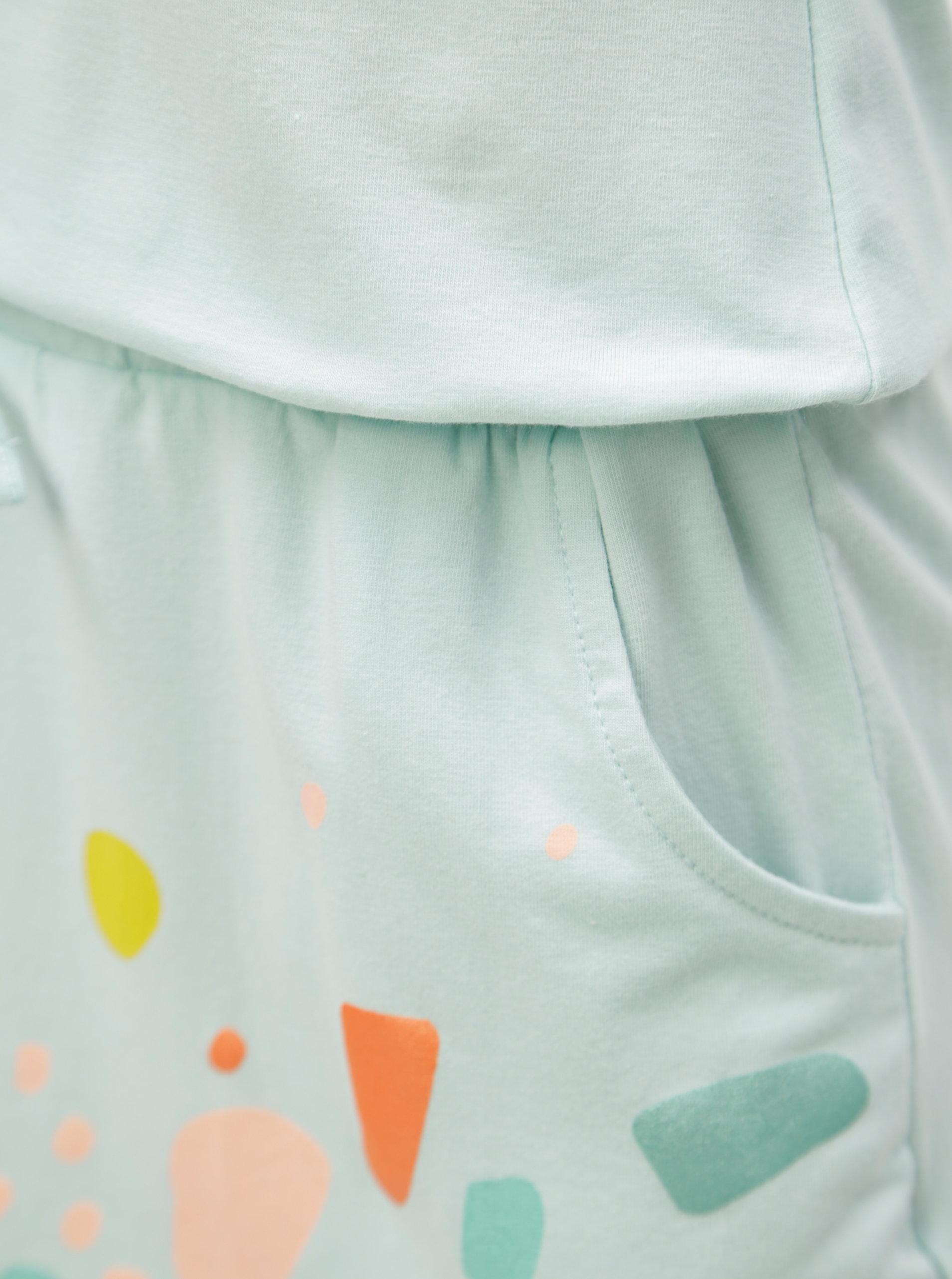 0f9ffde23af4 Světle zelené šaty s potiskem papouška 5.10.15.