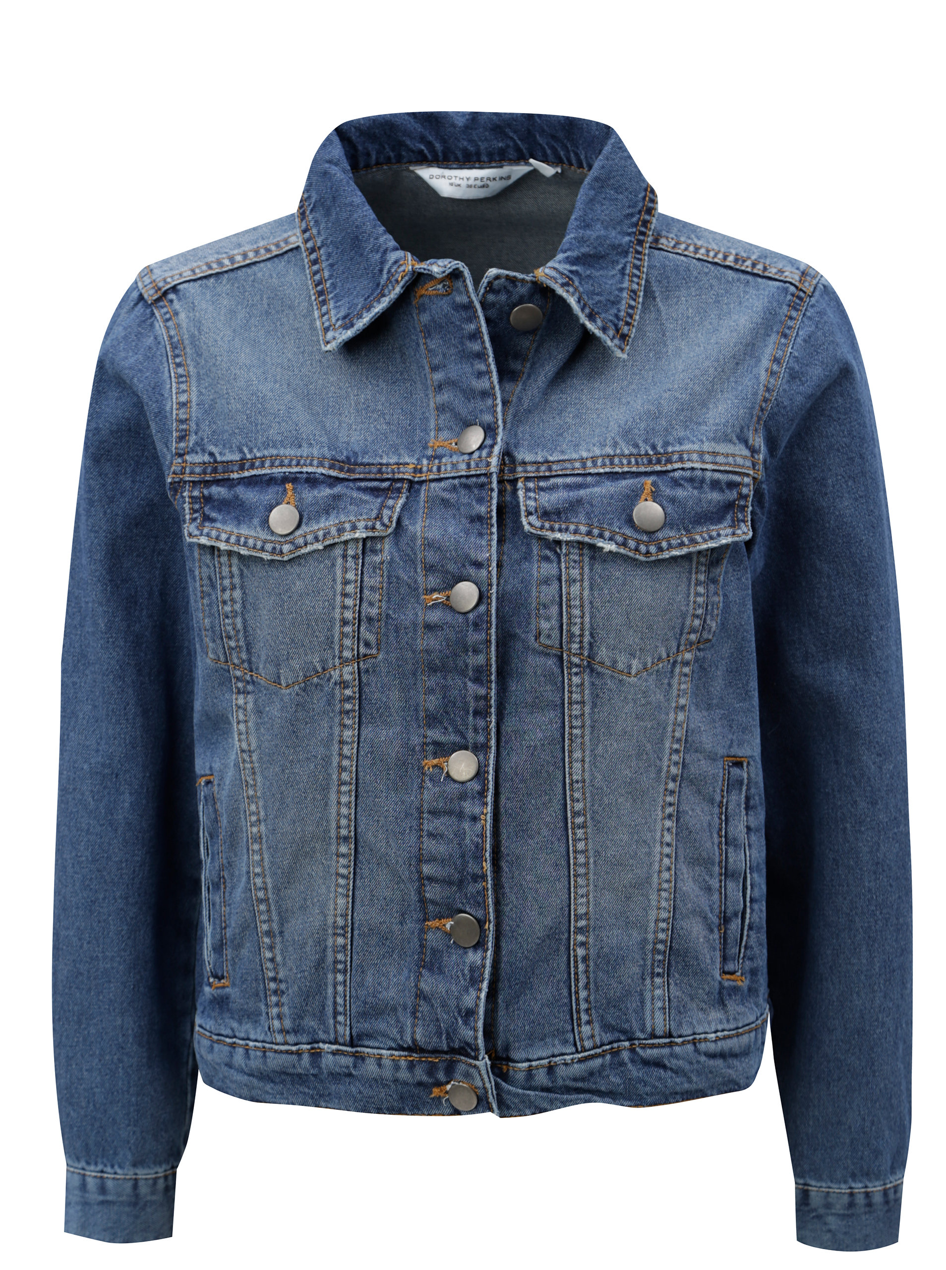 Modrá džínová bunda Dorothy Perkins Petite