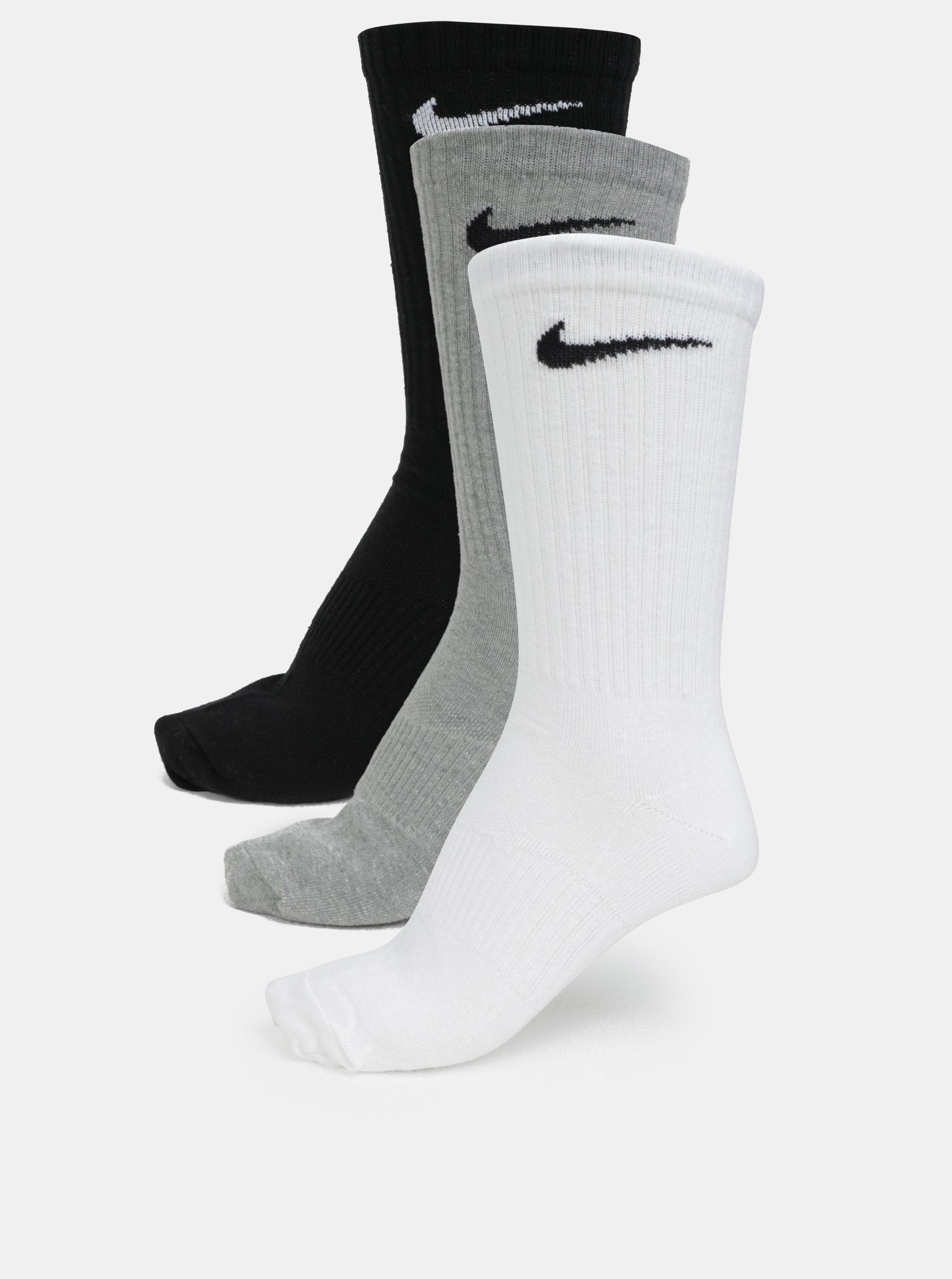 Sada tří párů ponožek v šedé 795d234c42