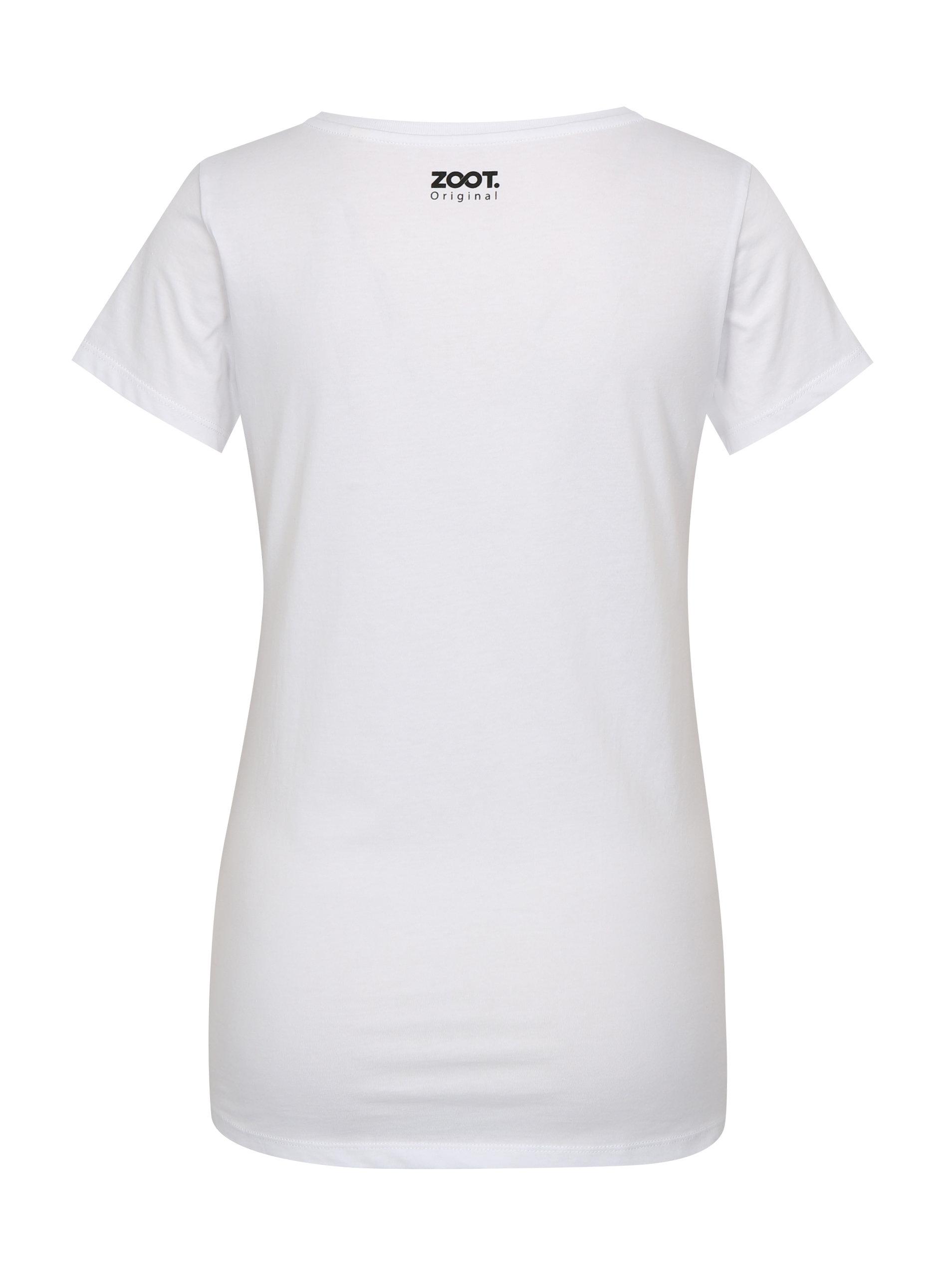 Bílé dámské tričko ZOOT Original Prekvitas