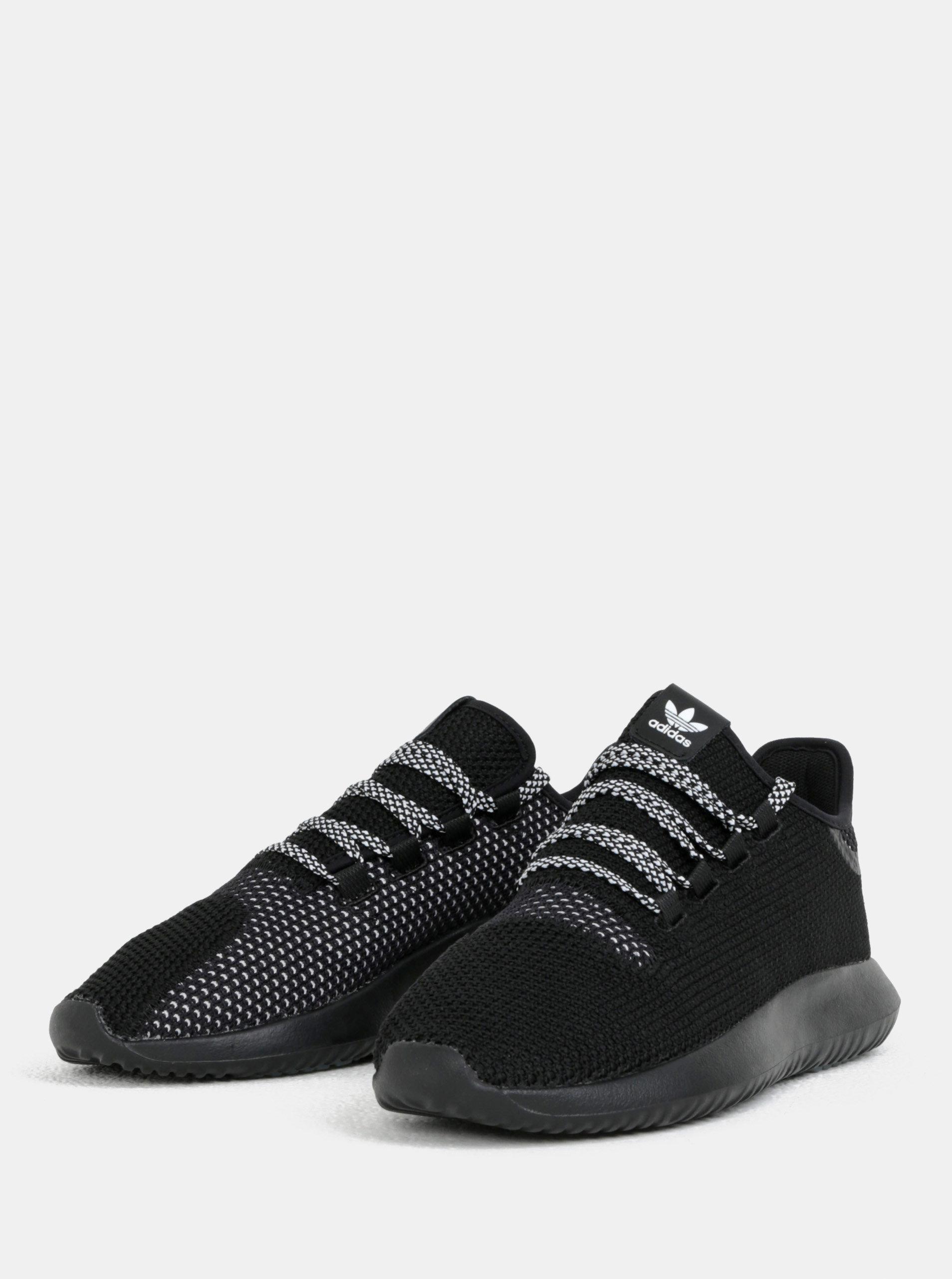 Černé pánské tenisky adidas Originals Tubular Shadow ... c28377eafe