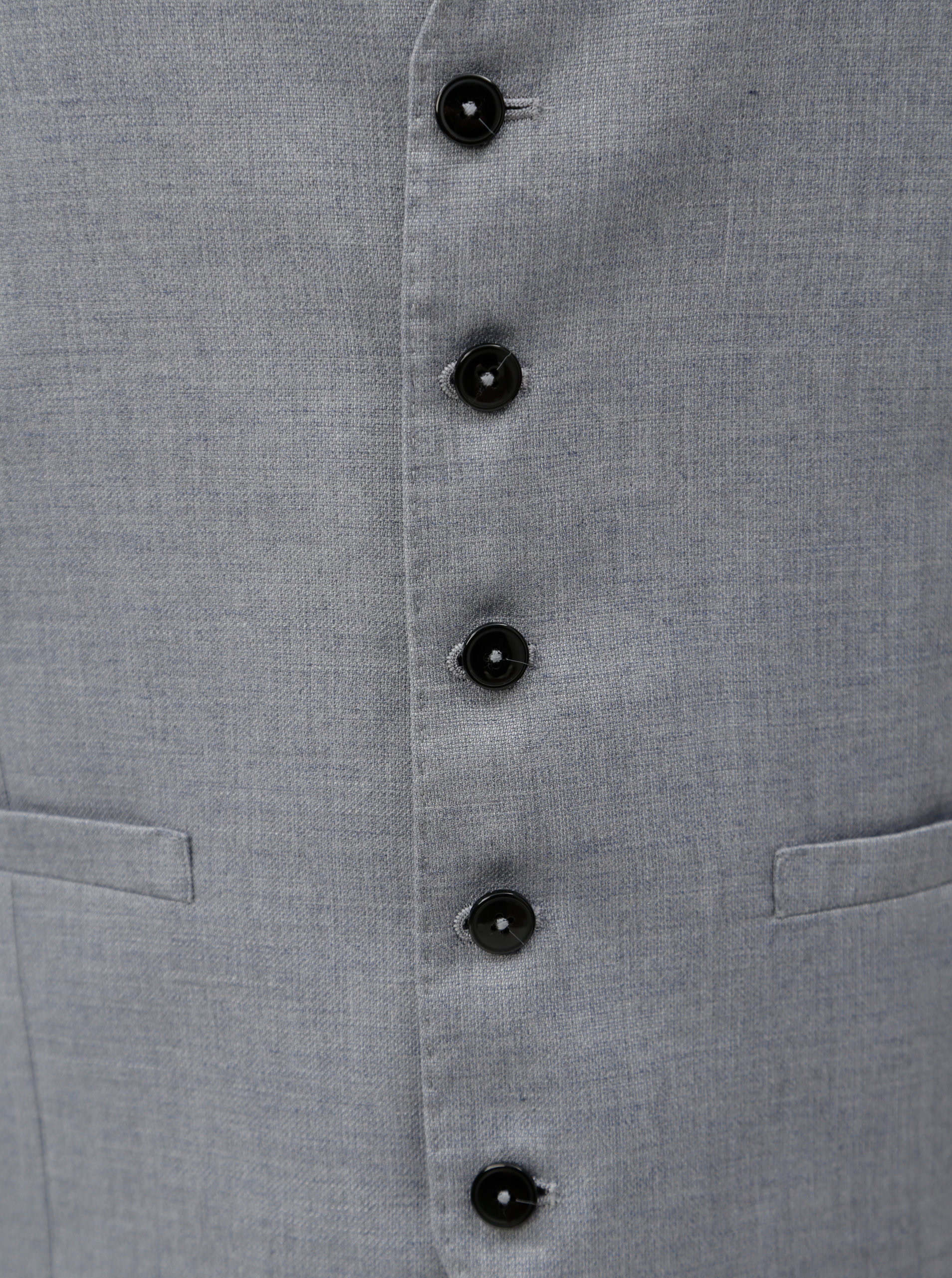 adf1aaa39a8 Světle šedá formální vesta Burton Menswear London ...