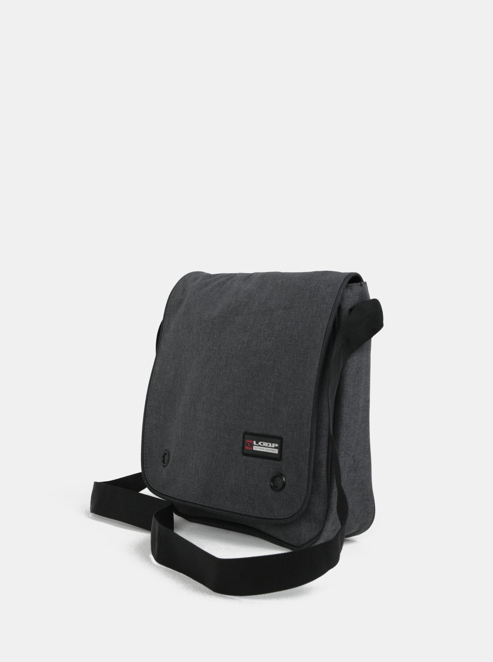 920f3a7daed1f Sivá pánska taška cez rameno LOAP Biney | ZOOT.sk