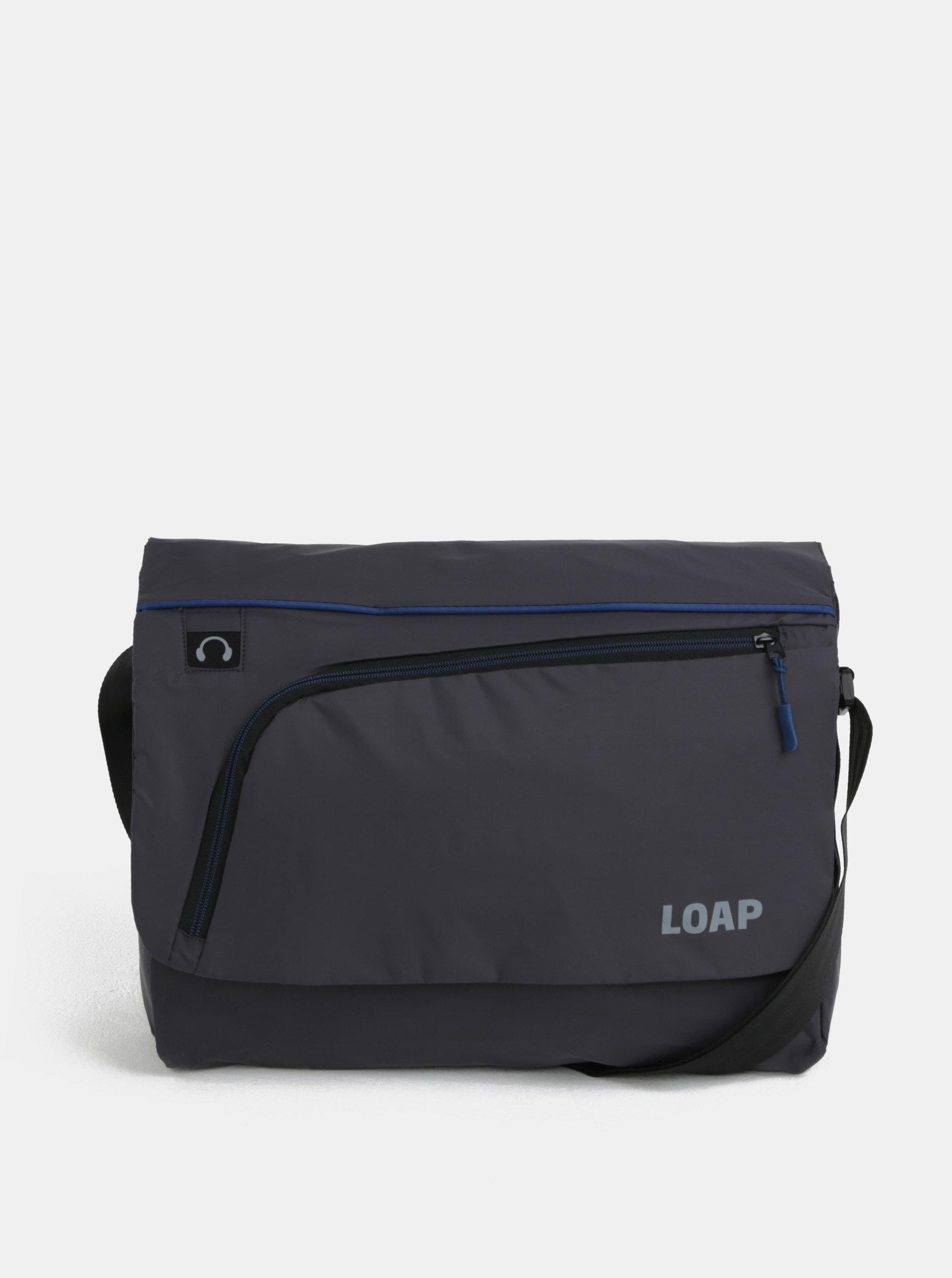 """Modro-šedá pánská taška na notebook LOAP Gotsa 15"""""""