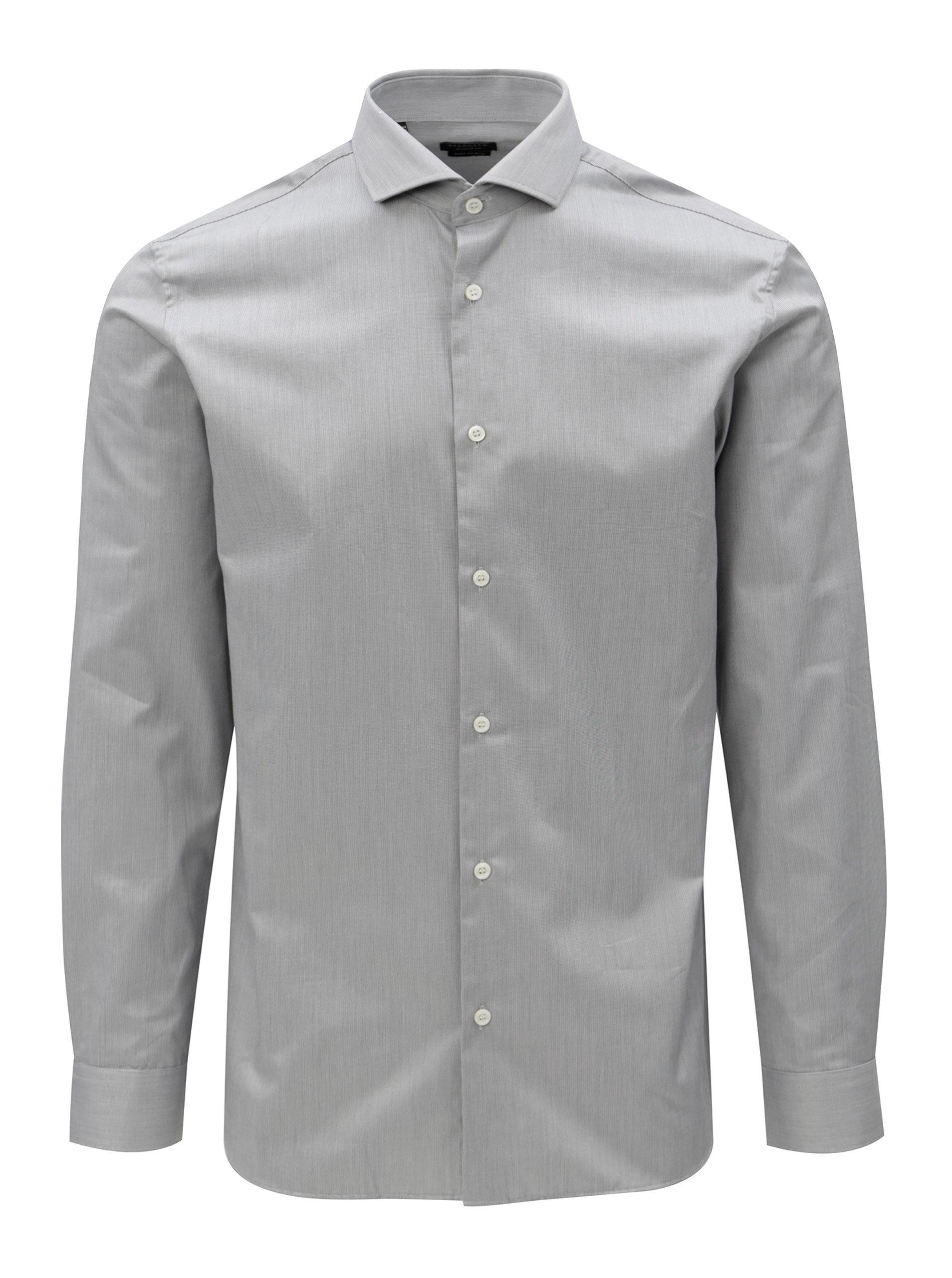 Šedá formální regular fit košile Selected Homme Regsel c876a992f0