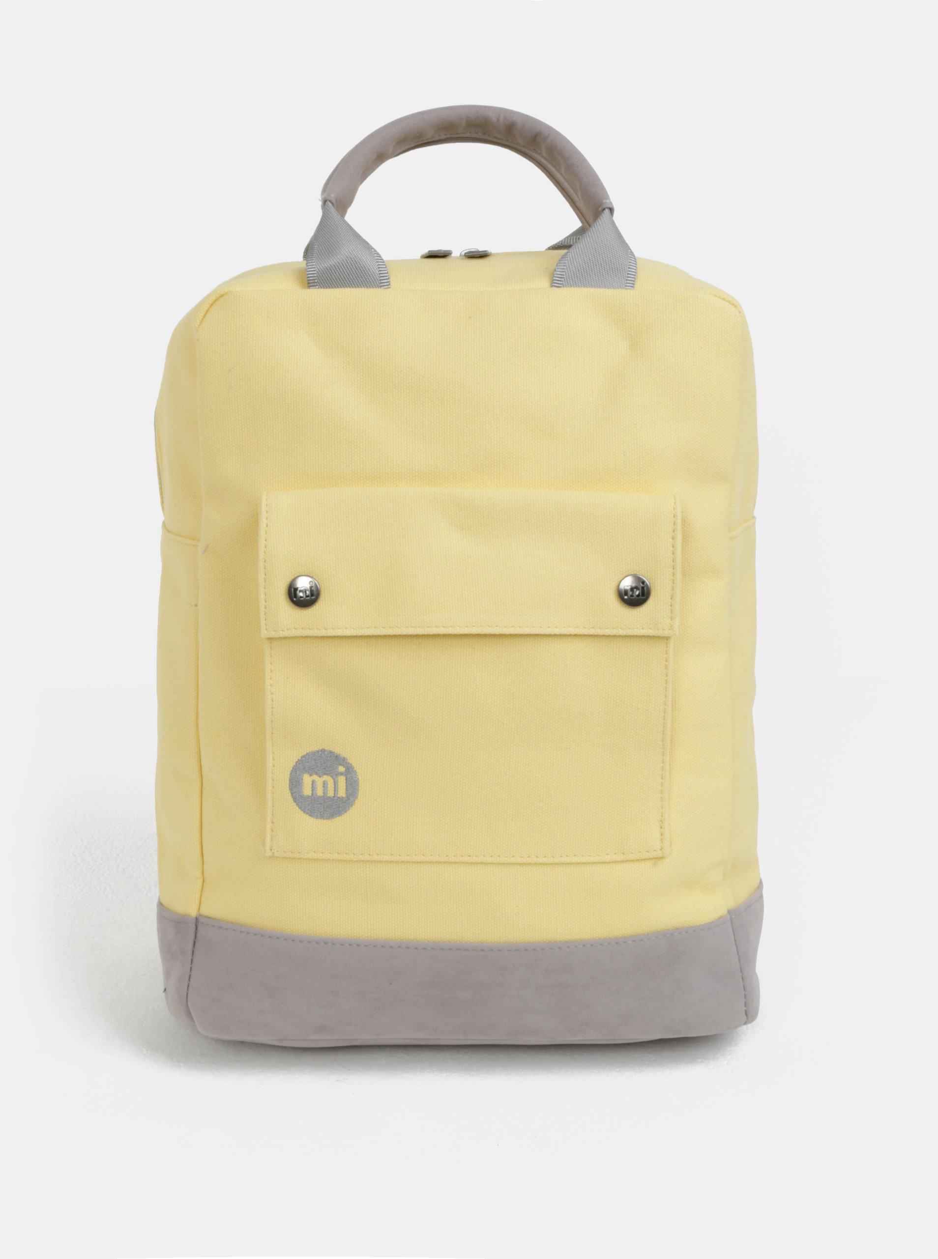 0cf396352e Žltý dámsky batoh Mi-Pac Day Pack Canvas ...