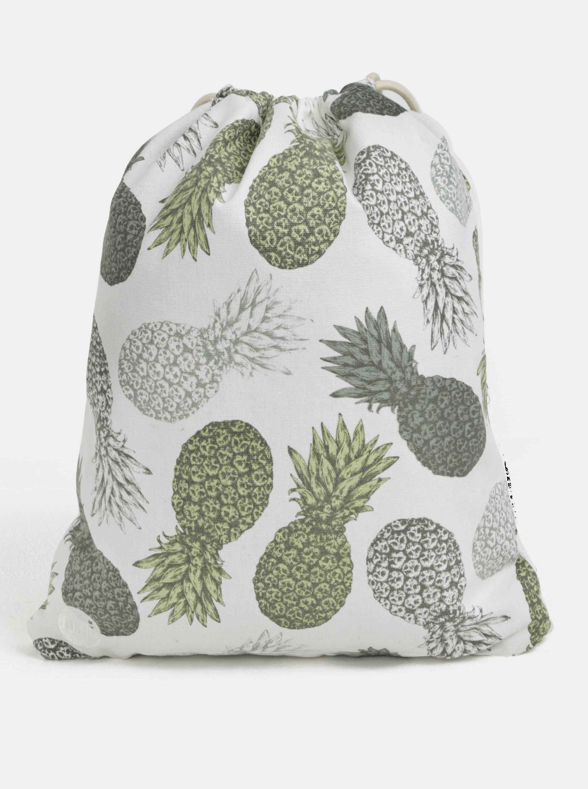 Krémový dámský vak Mi-Pac Kit Bag Velvet