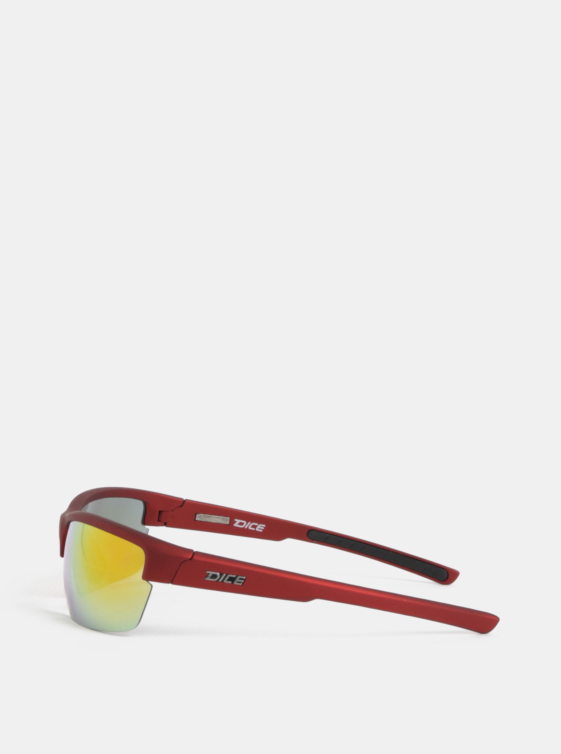 1cd5fadd8 Červené pánske slnečné okuliare Dice Sport | ZOOT.sk