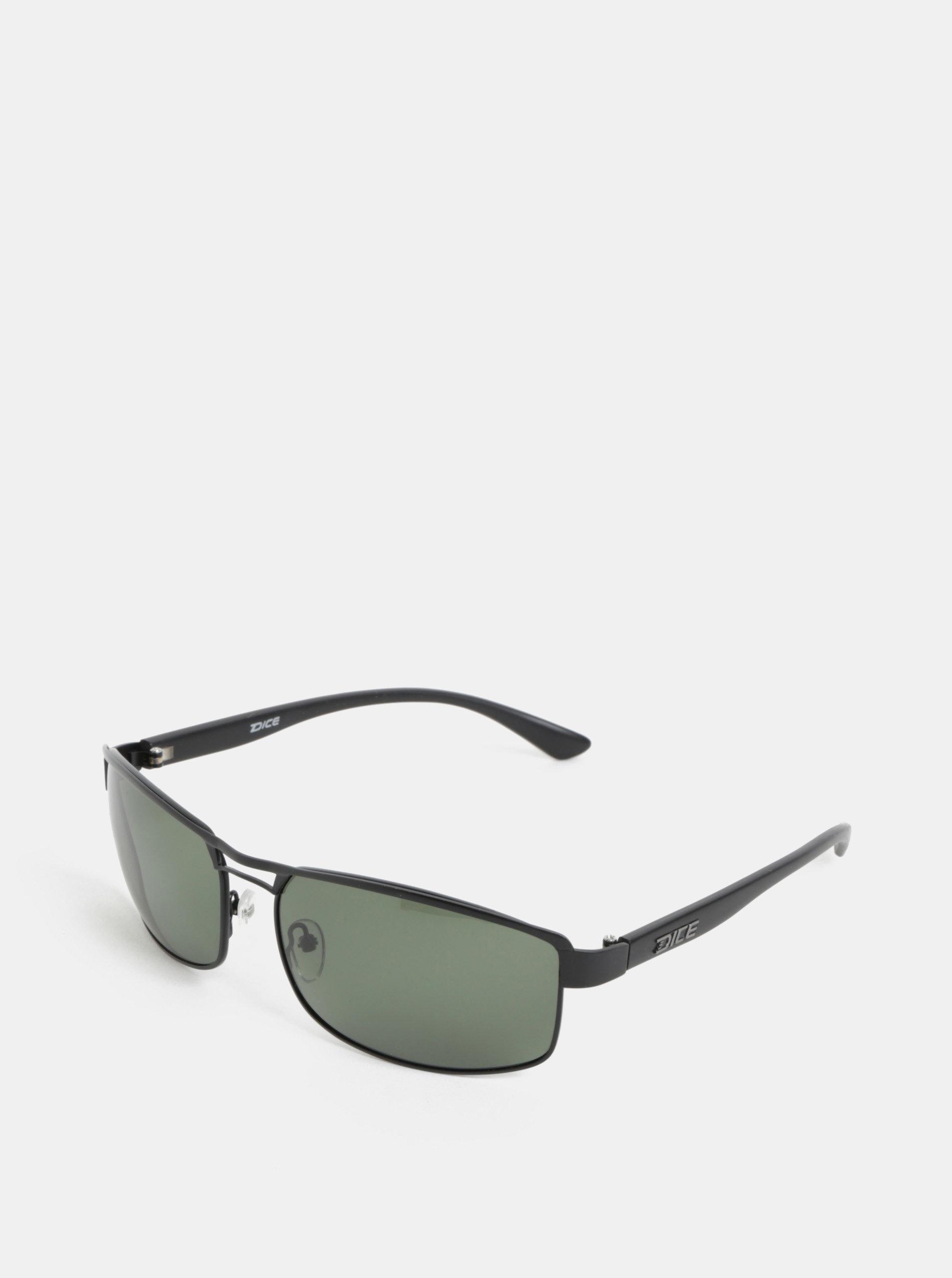 Černé pánské sluneční brýle Dice Arm Polar