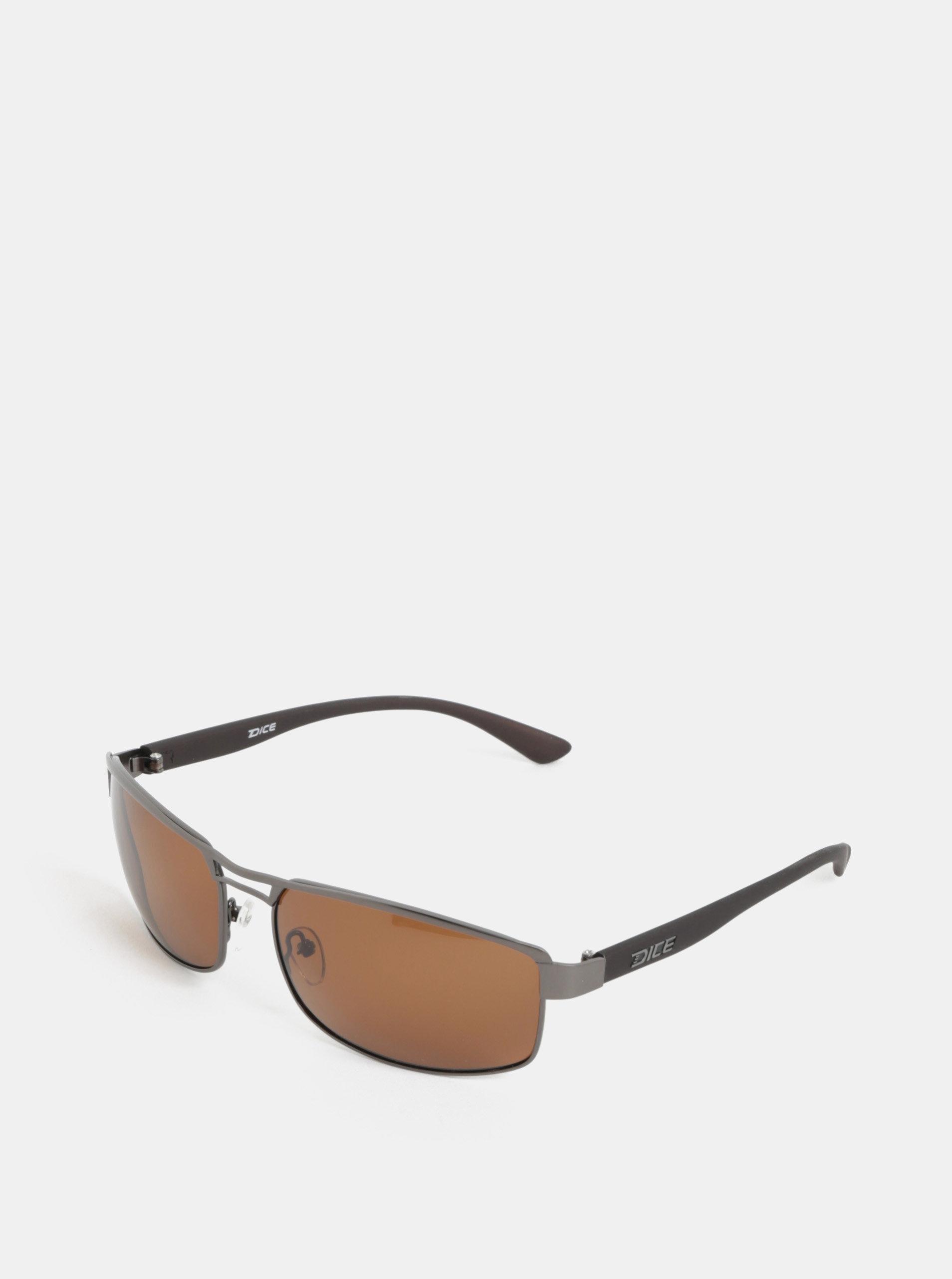 7842193cf Sivé pánske slnečné okuliare Dice Arm Polar | ZOOT.sk
