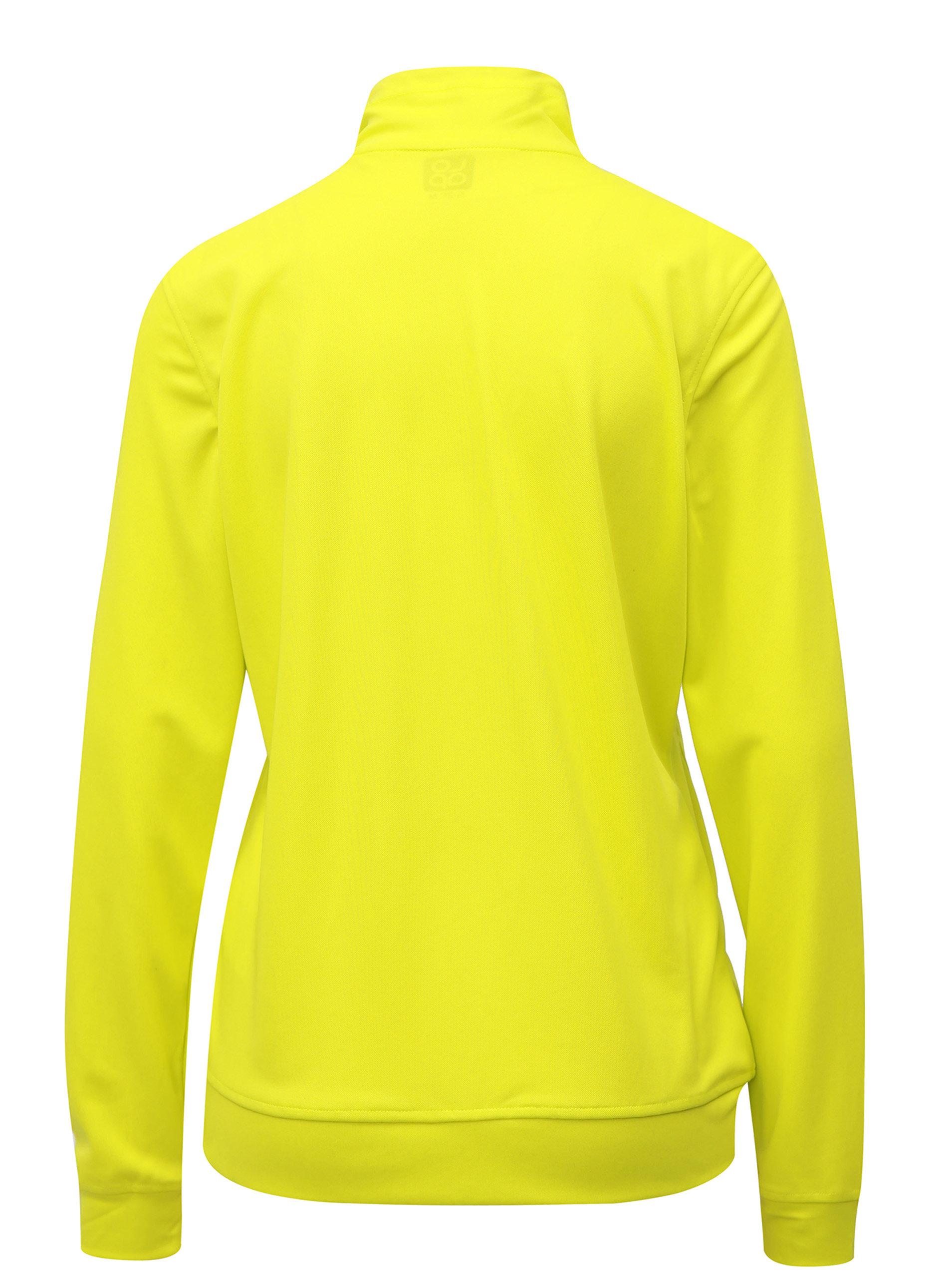 Neonově žlutá dámská lehká mikina LOAP Margo - Akční cena  b362866b67