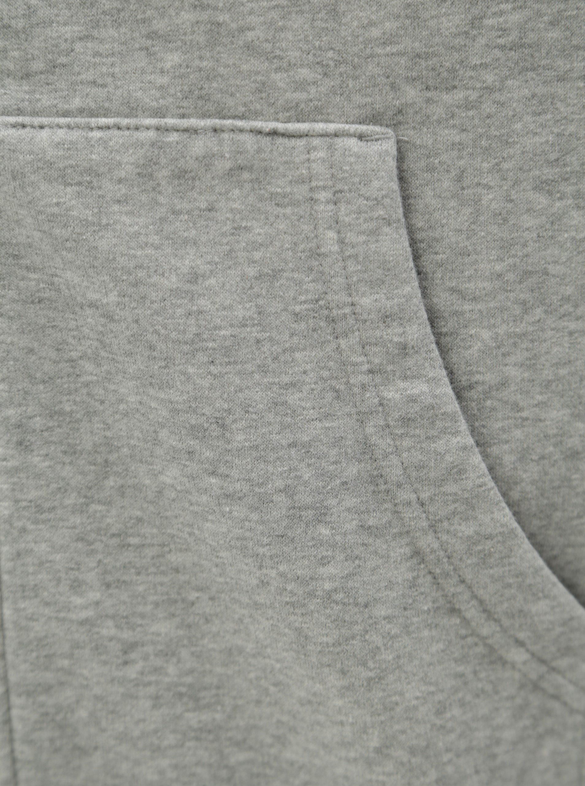 Šedá pánská žíhaná mikina s kapucí Converse Core Full-Zip Hoodie ... 59ba87eb768