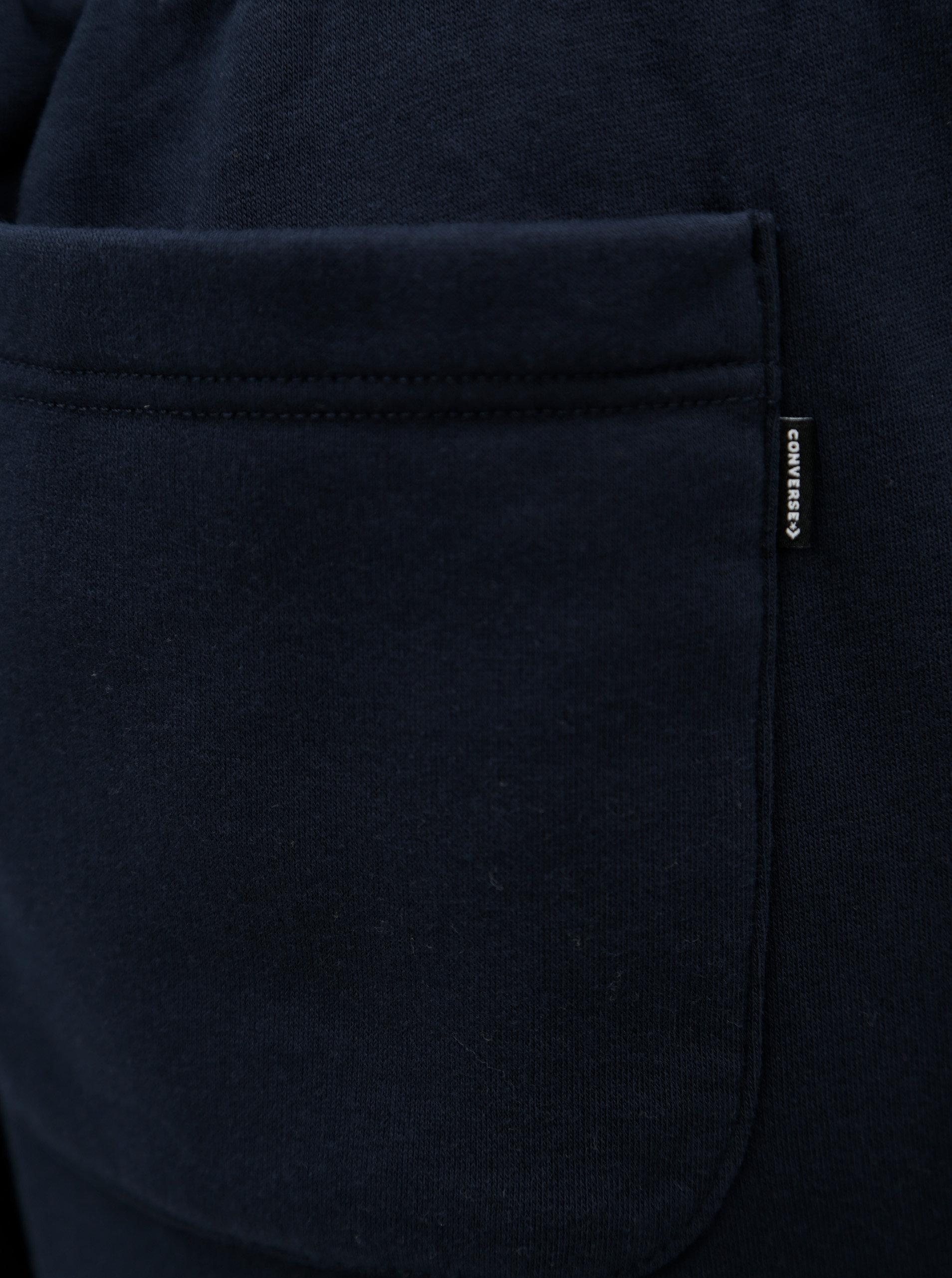 2f10409d613 Tmavě modré pánské tepláky s kapsami Converse Core Jogger ...