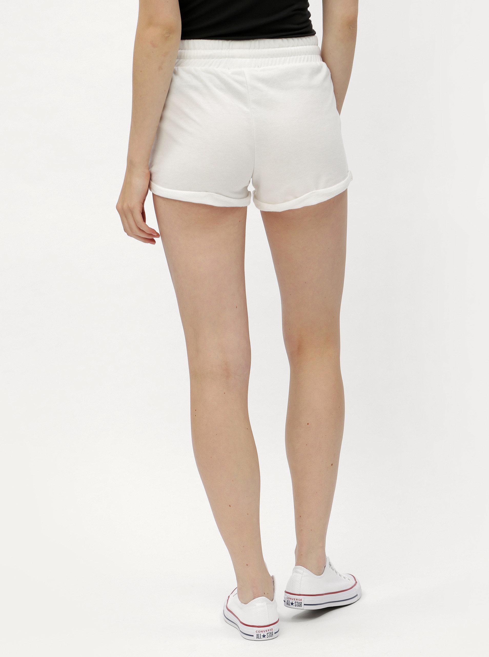 Bílé kraťasy s krajkou Haily´s Rosy ... d741ffb05b