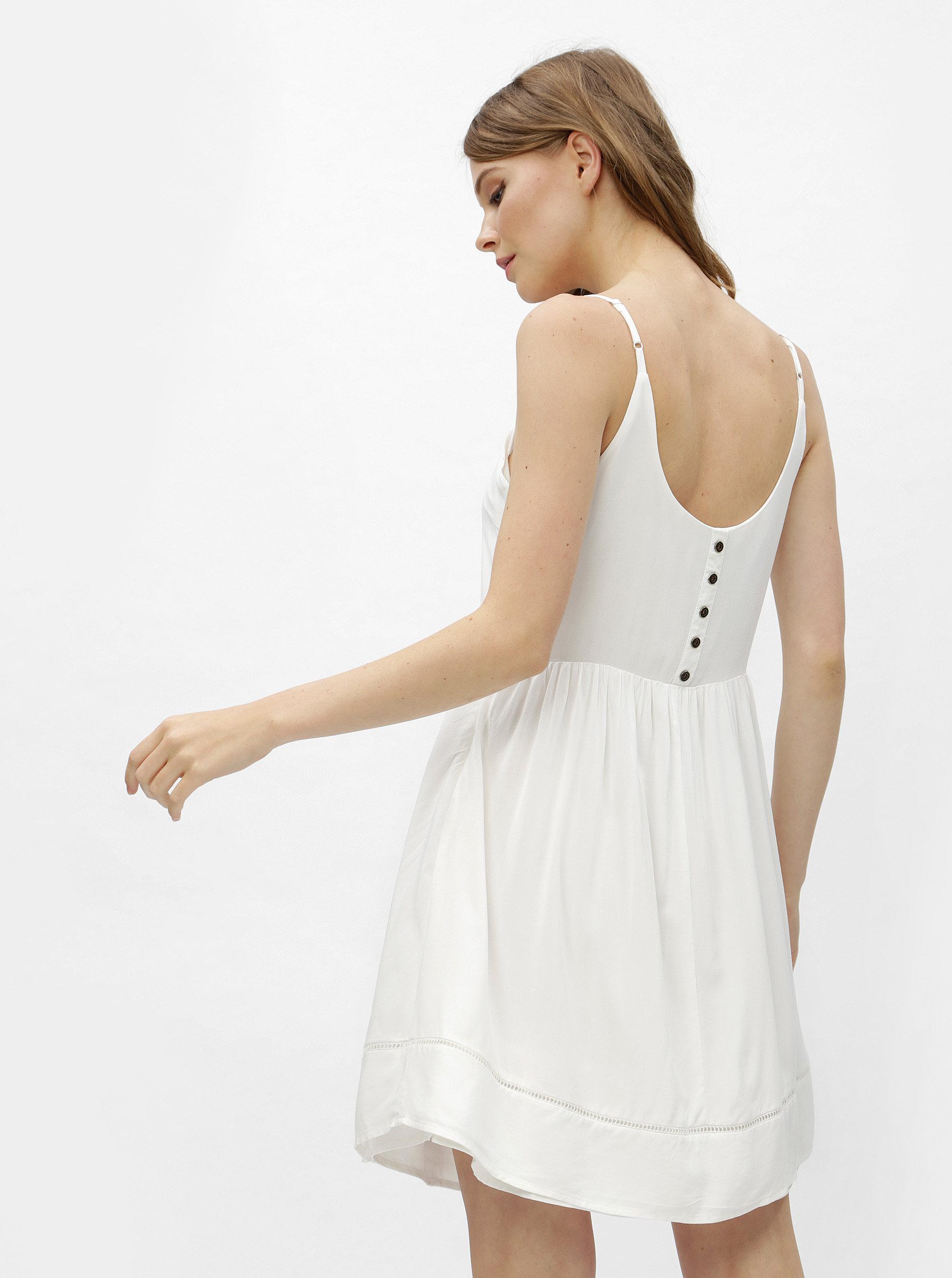 Bílé šaty na ramínka Haily´s Amara ... daedffcb7b