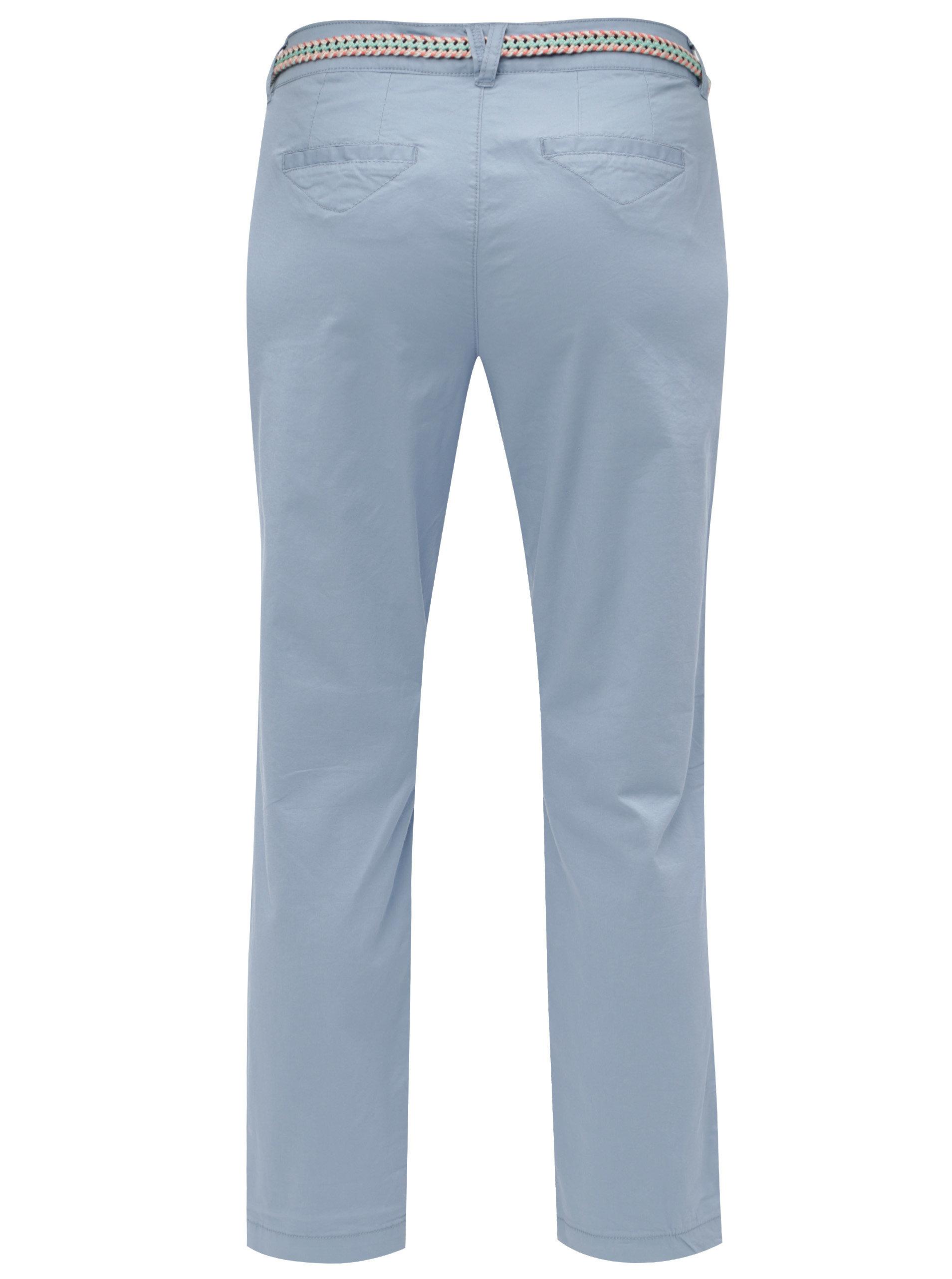4a25a6348 Modré dámske skrátené nohavice s.Oliver | ZOOT.sk